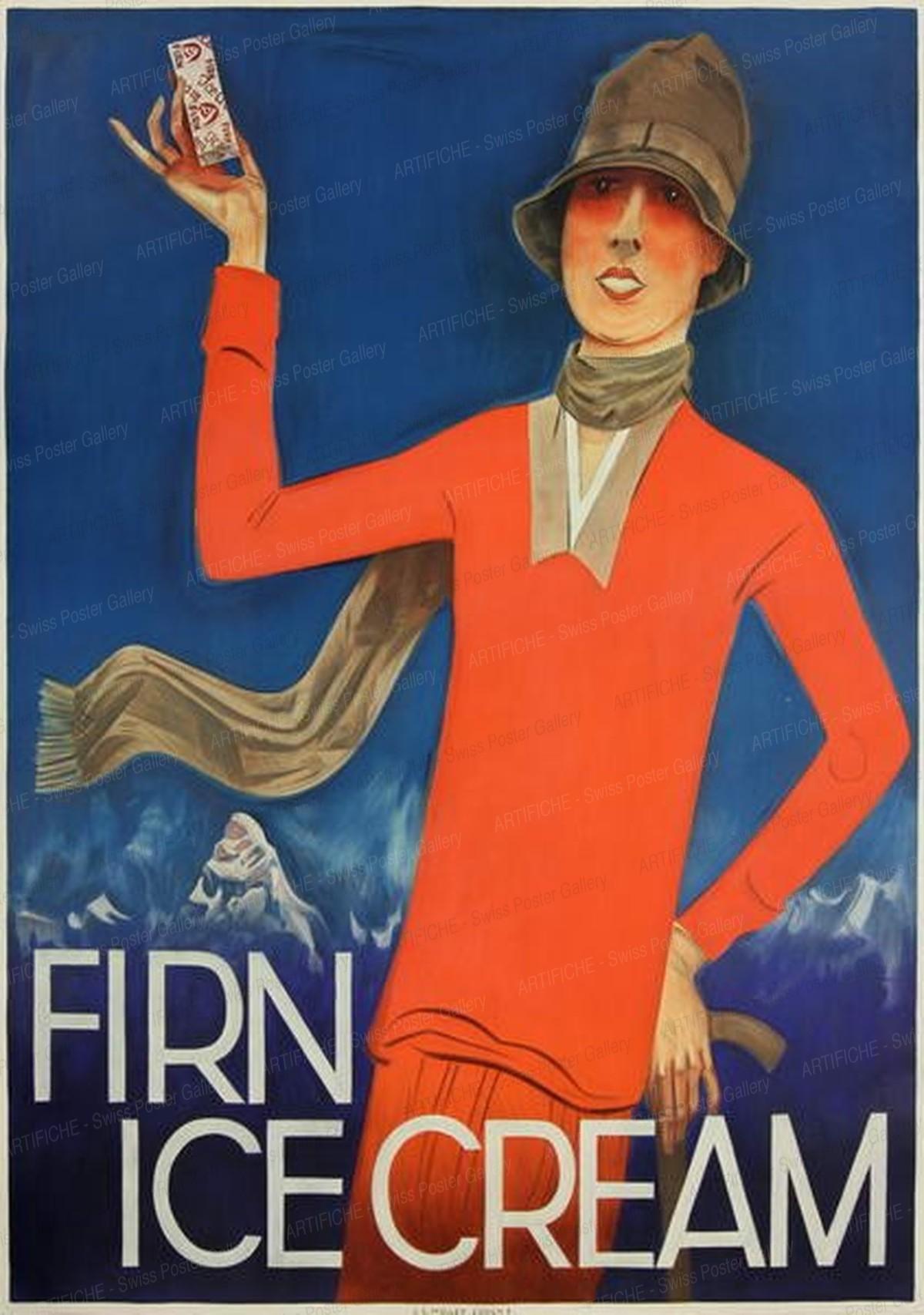 Firn Ice Cream, Otto Baumberger