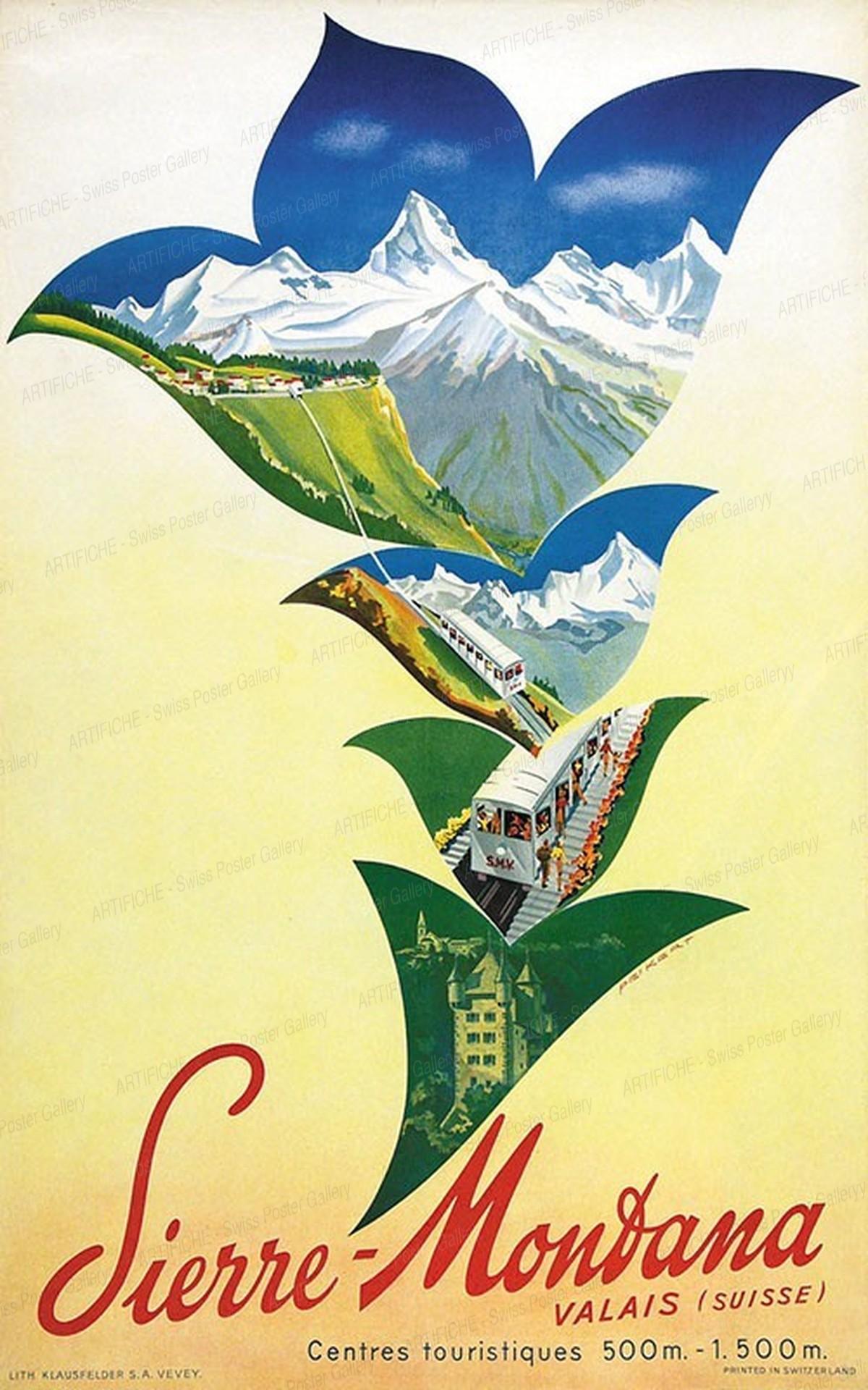 Sierre-Montana Valais (Suisse), Martin Peikert