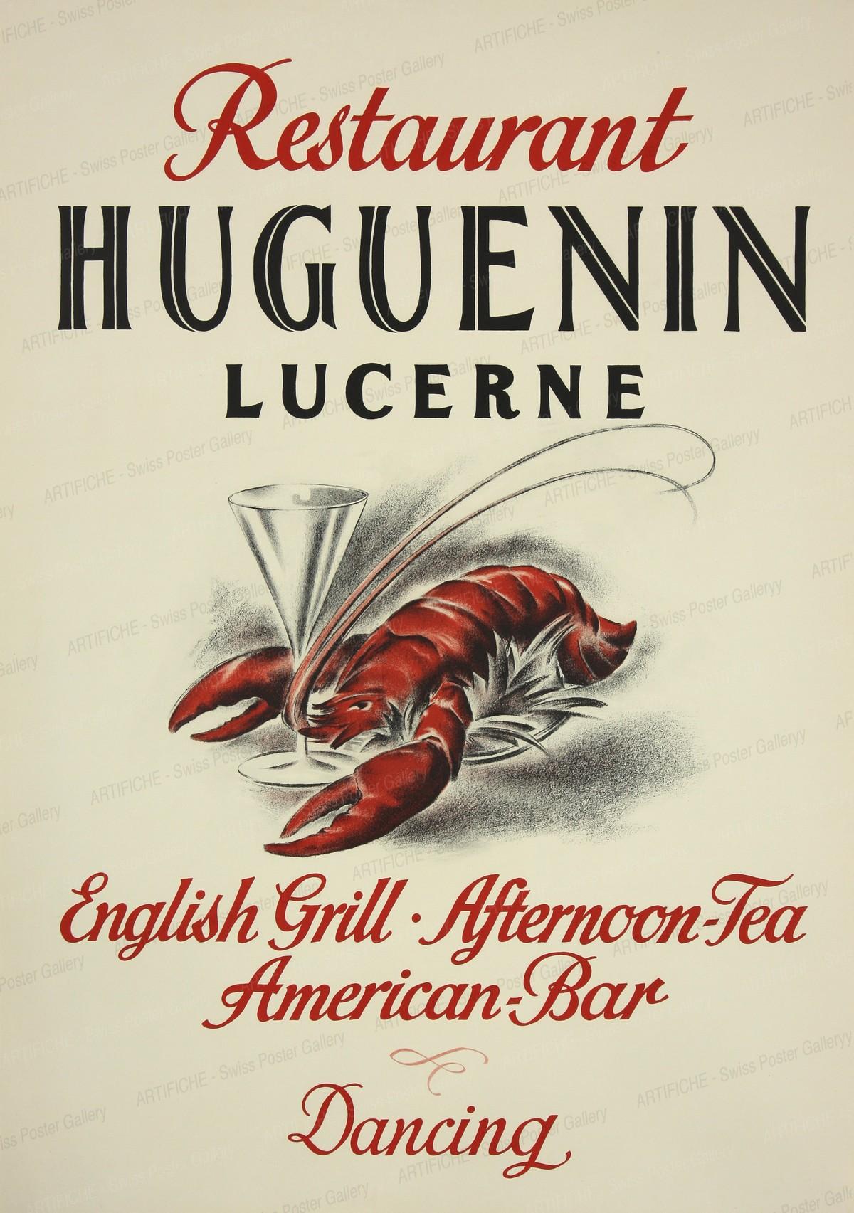 Restaurant Huguenin Lucerne, Artist unknown