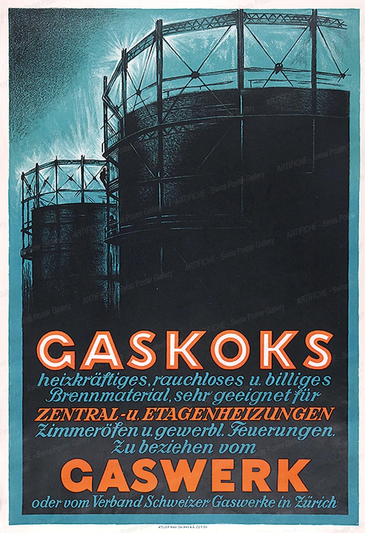Gaskoks Gaswerk, Max Dalang
