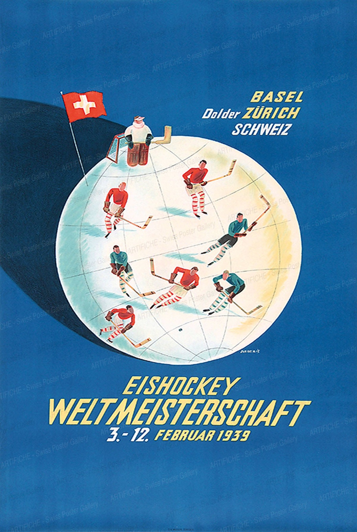 Eishockey Weltmeisterschaft Februar 1939, Franco Barberis