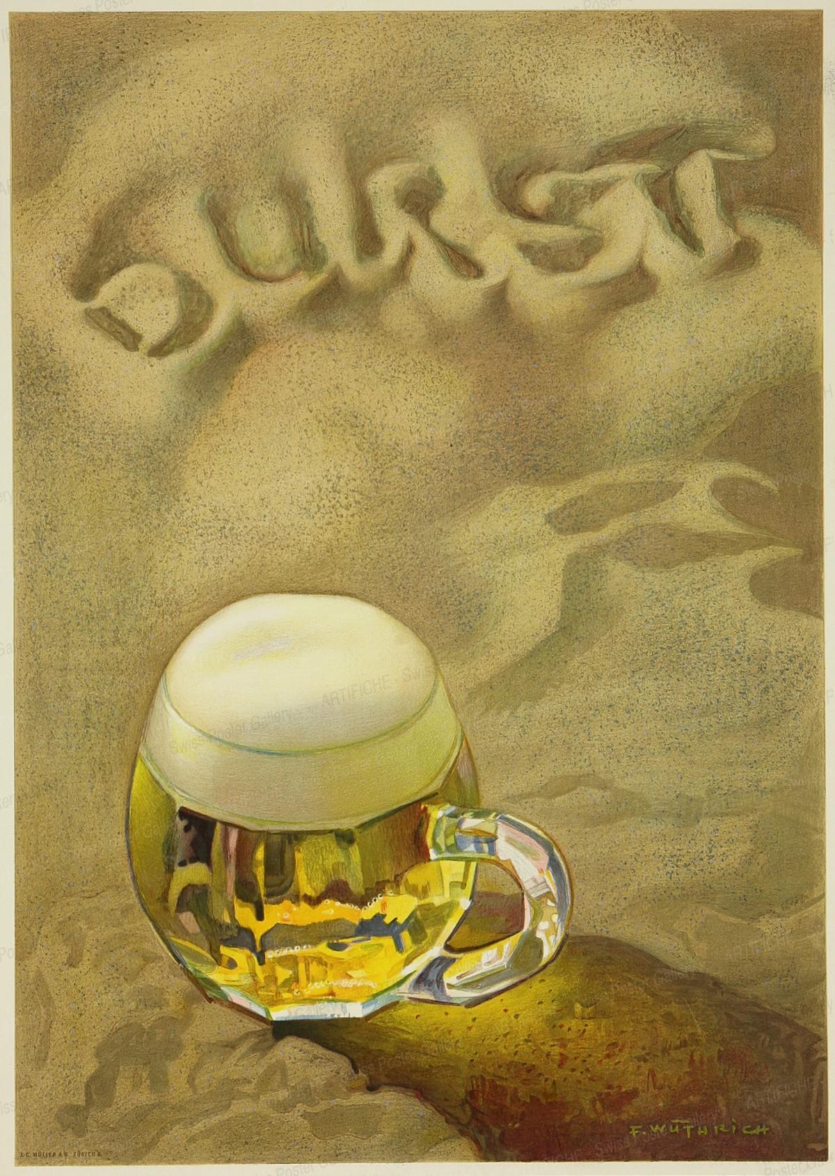 Durst (Bier), Fritz Wüthrich
