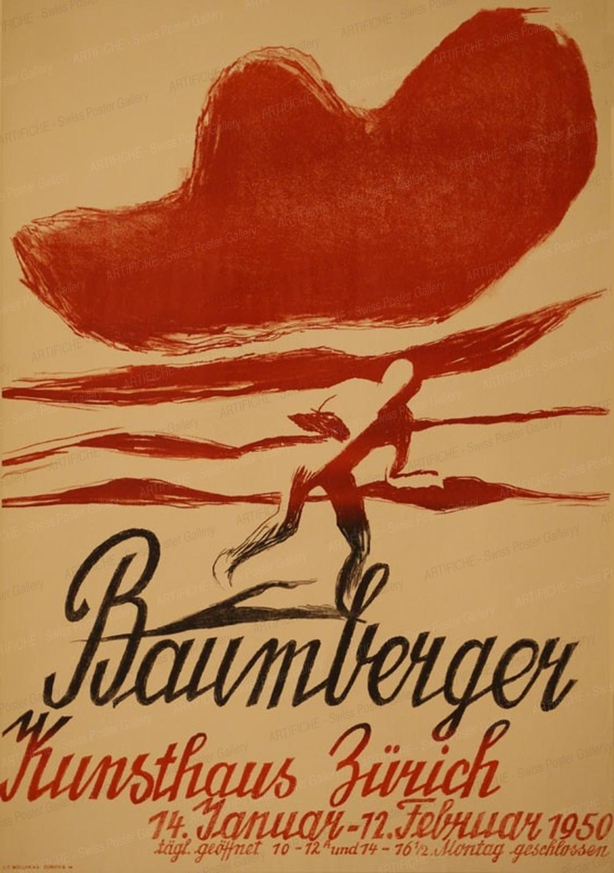 Kunsthaus Zurich – Otto Baumberger, Otto Baumberger