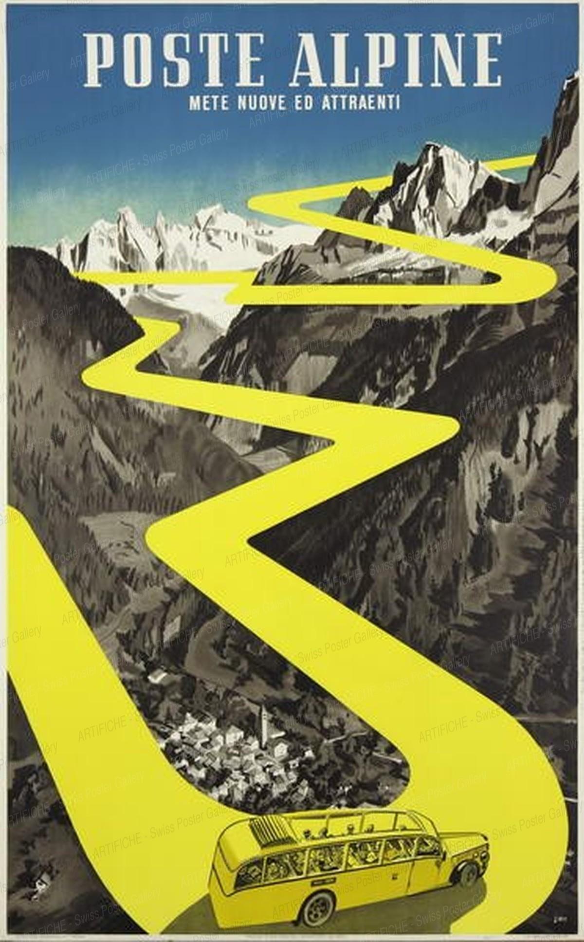 Swiss Alpine Postal Coaches, Herbert Berthold Libiszewski
