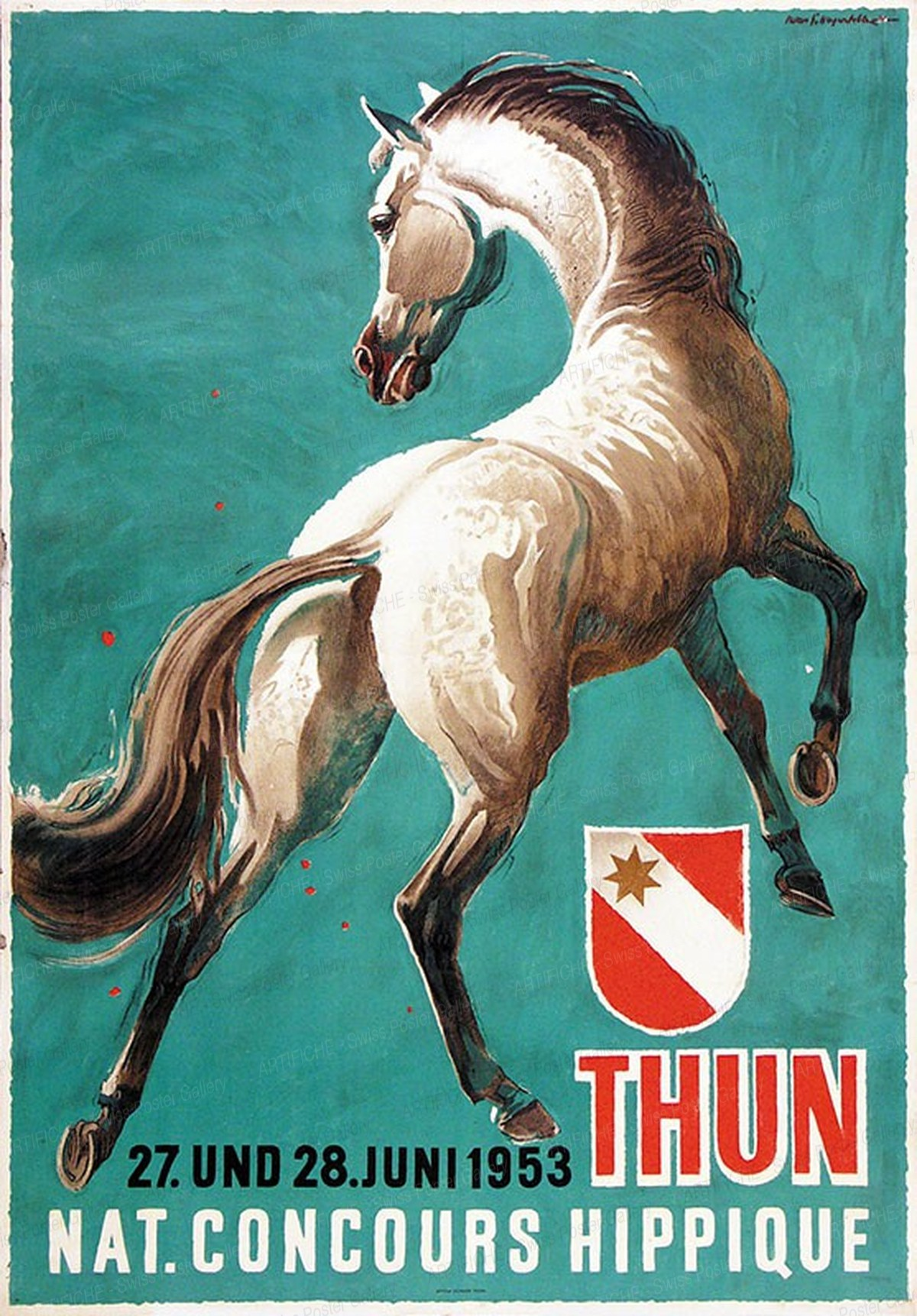 Thun Concours Hippique, Iwan Edwin Hugentobler