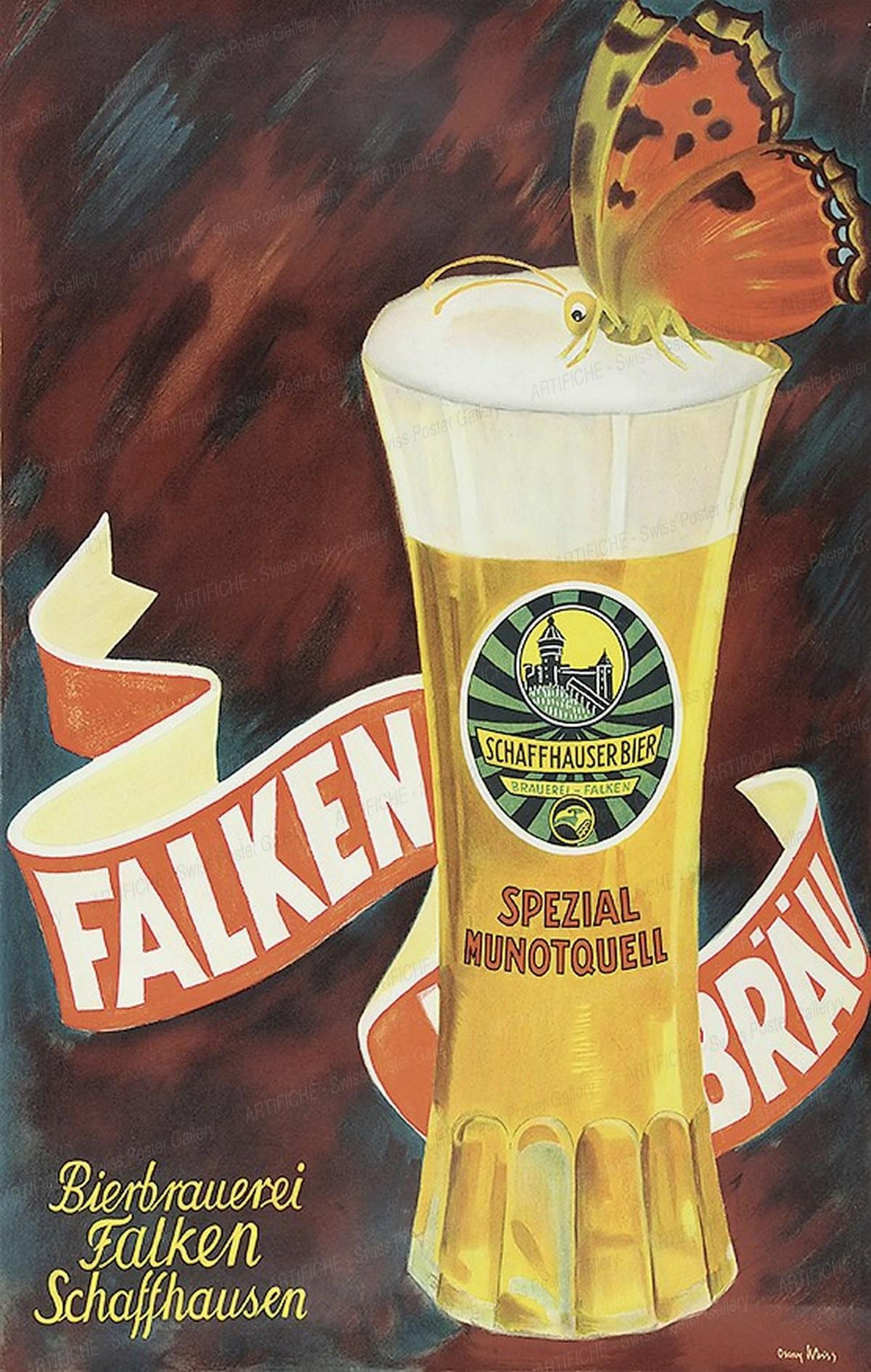 Brauerei Falken Schaffhausen, Oscar Weiss