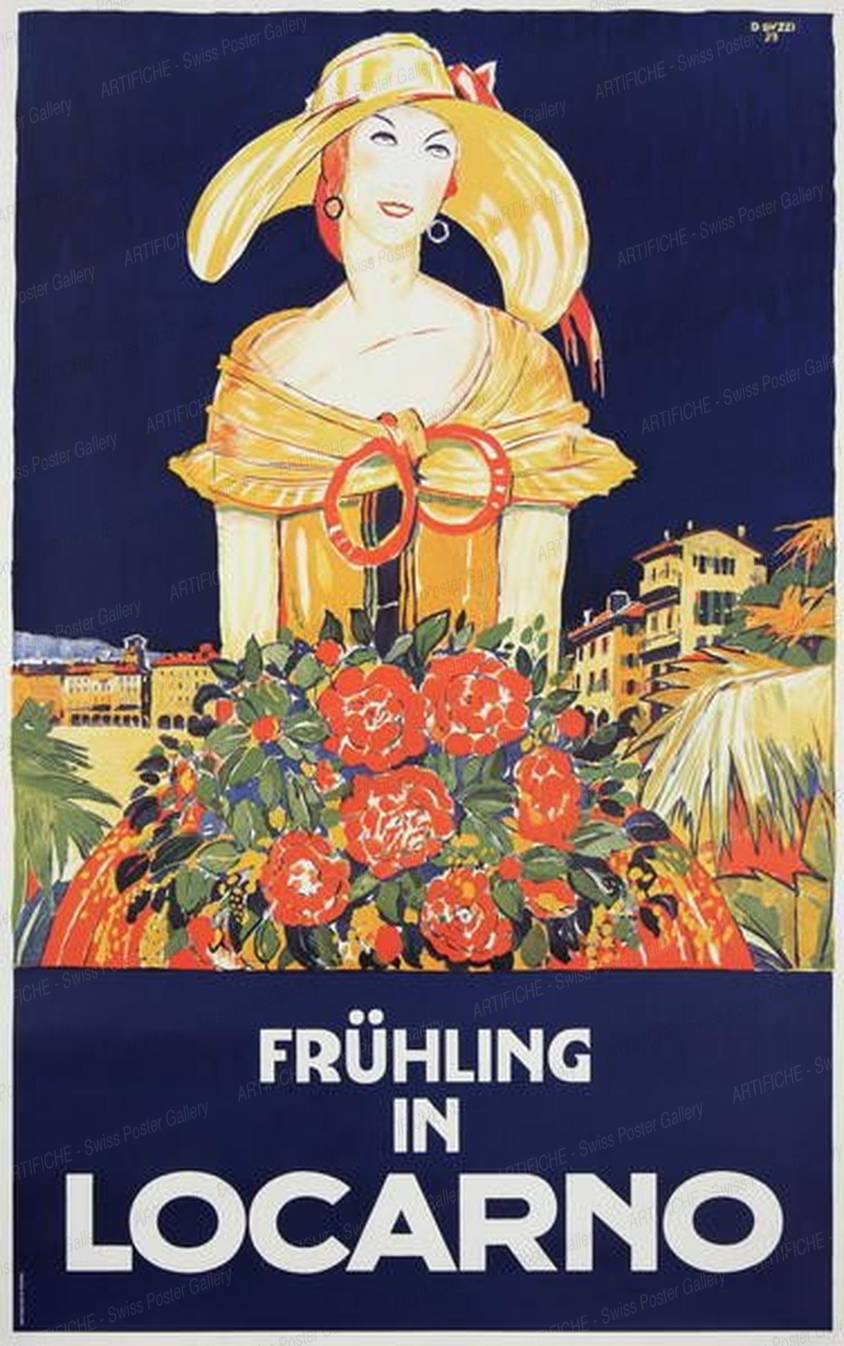 Frühling in Locarno, Daniele Buzzi