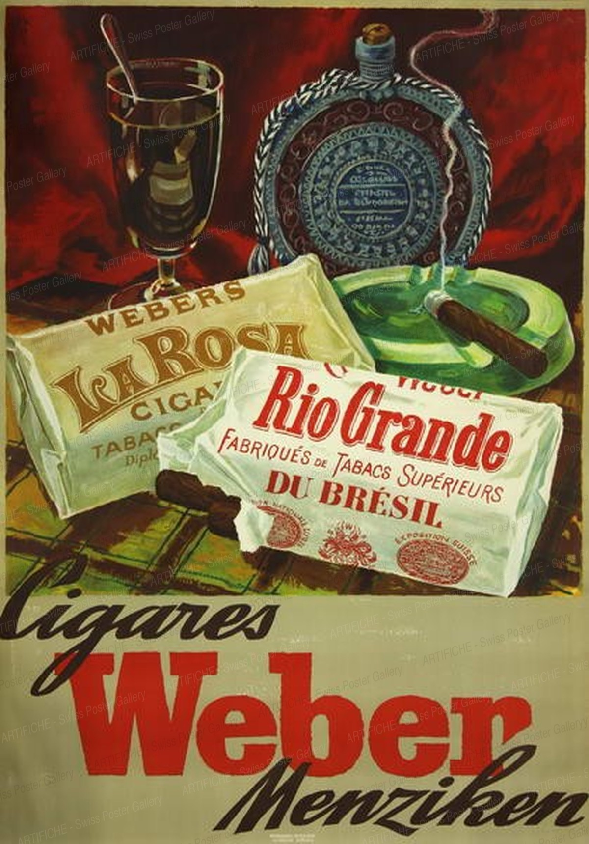 Cigares Weber – Rio Grande, Alfred Koella