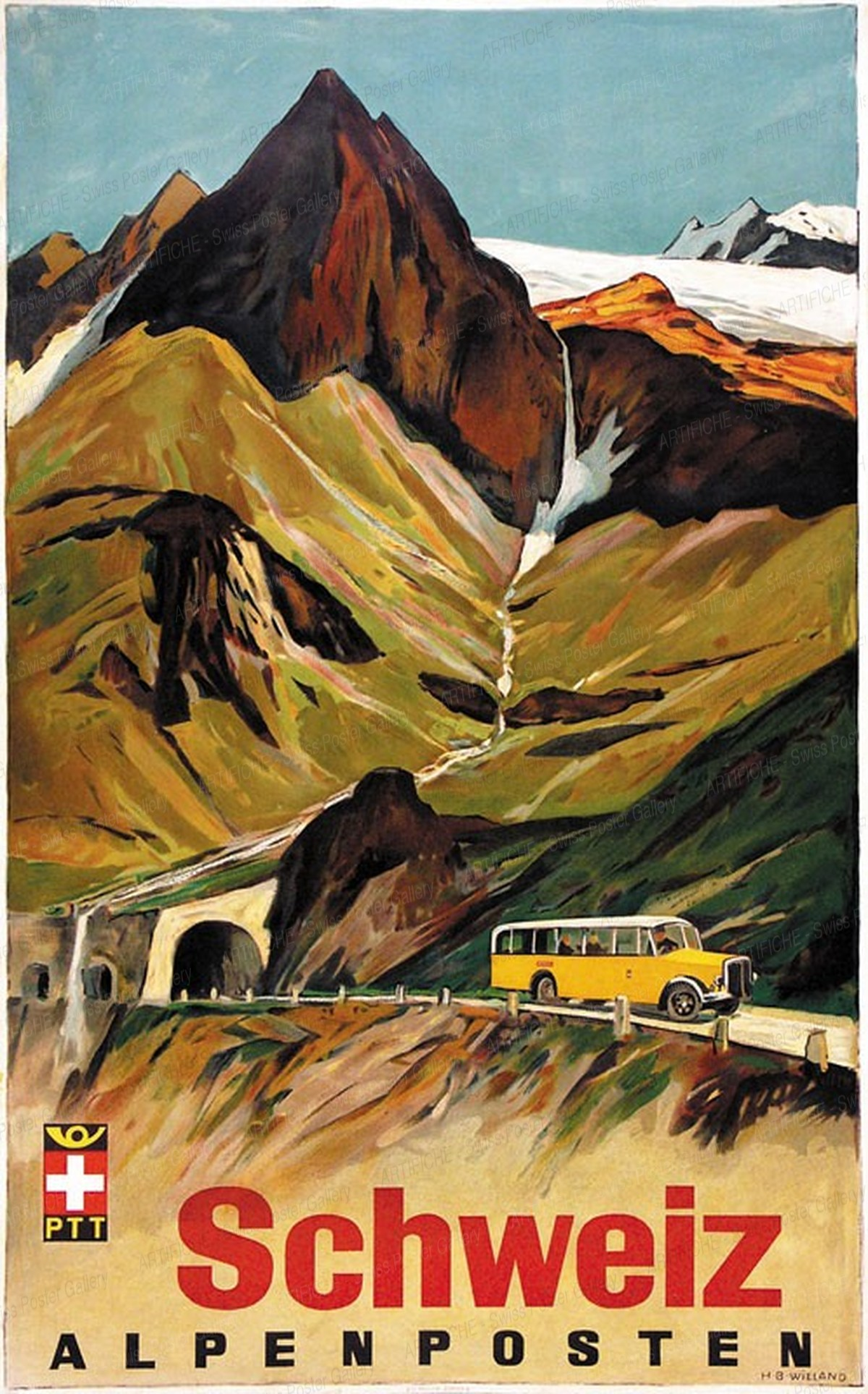Schweiz – Alpenposten, Hans Beat Wieland