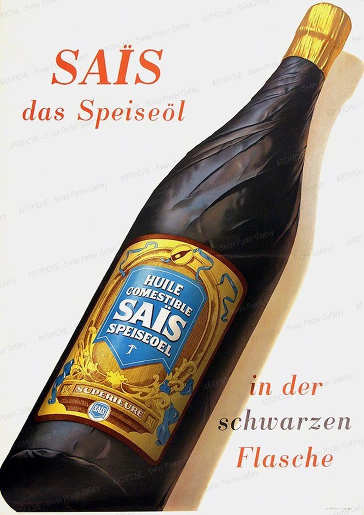 Sais – Das Speiseöl, Hans Looser