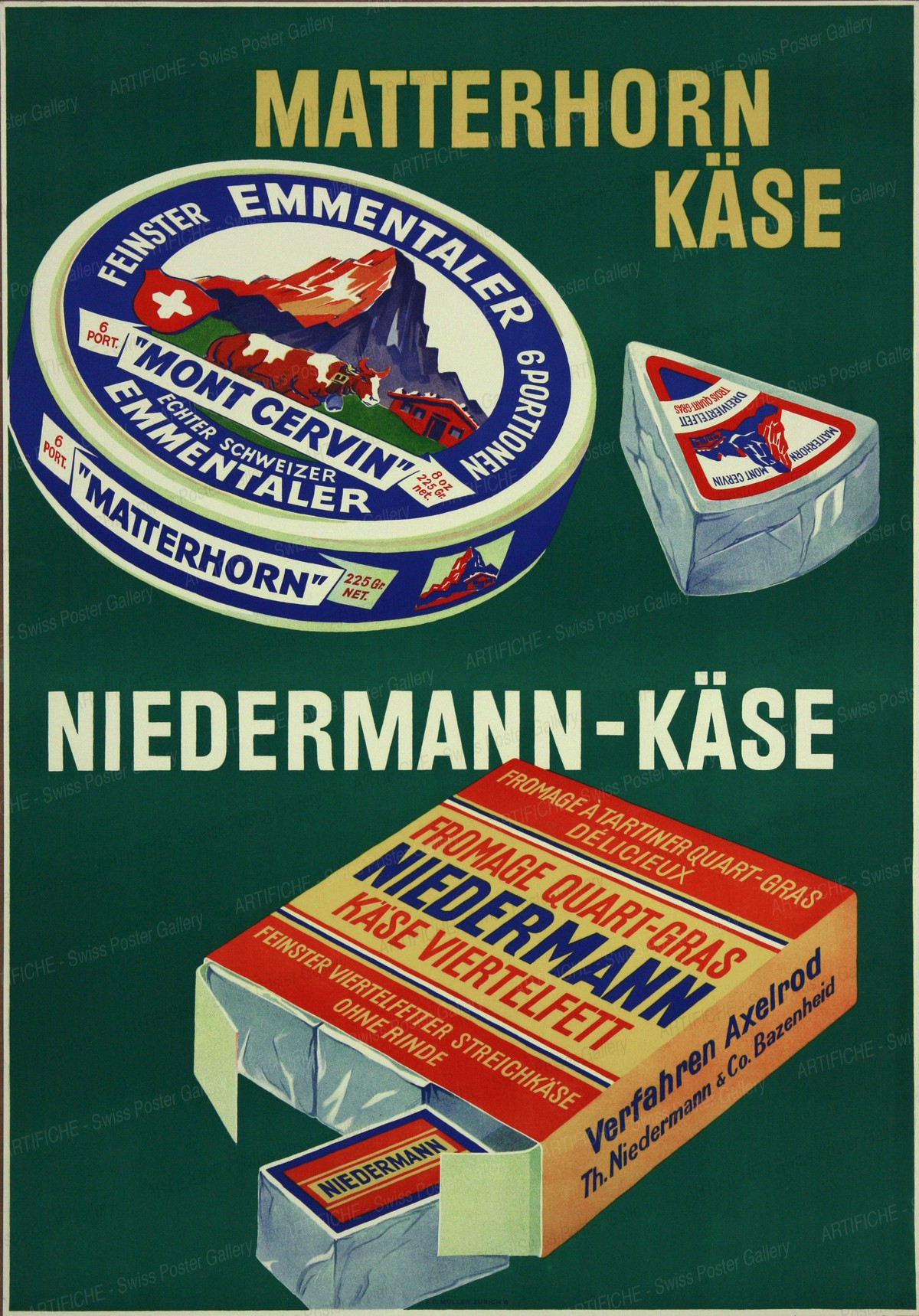 Matterhorn Cheese, Hermann Alfred Koelliker