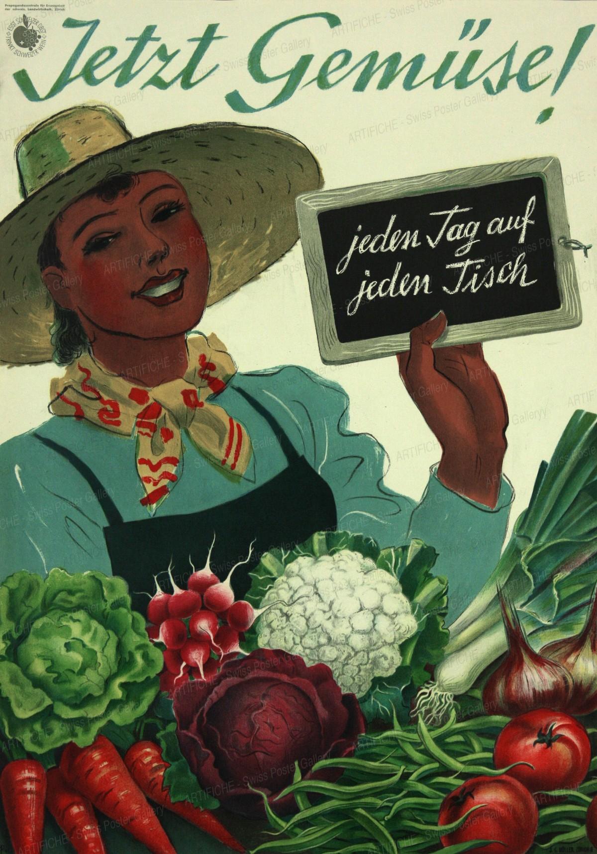 Jetzt Gemüse! Jeden Tag auf jeden Tisch, Hugo Laubi