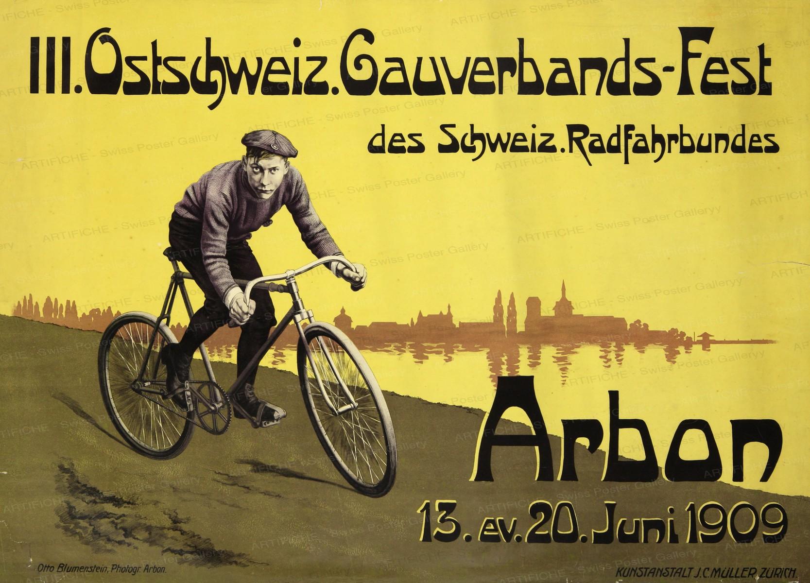 Bicycle Festival Eastern Switzerland, Otto Blumenstein