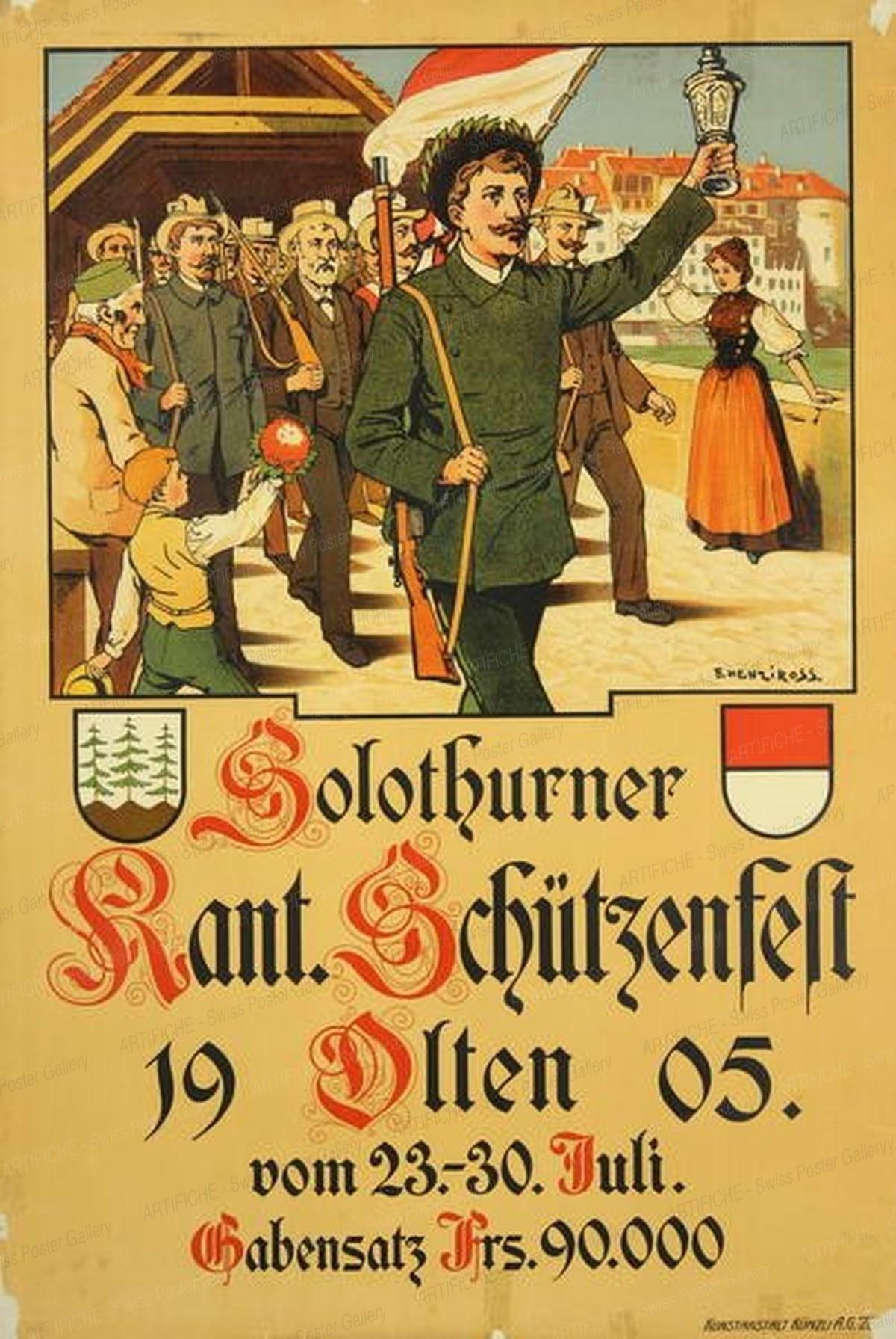 Solothurner Kant. Schützenfest Olten, Henziross E.