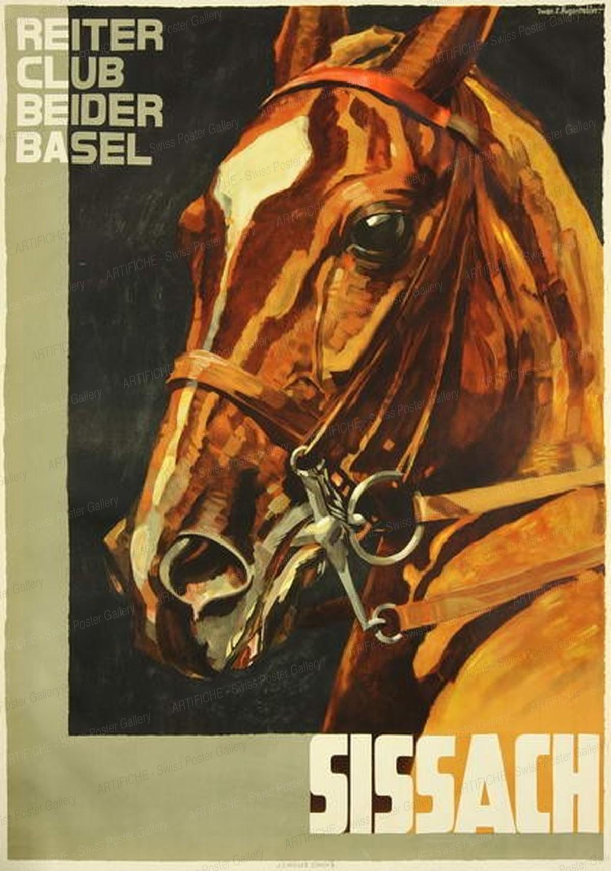Sissach Horse Race, Iwan Edwin Hugentobler