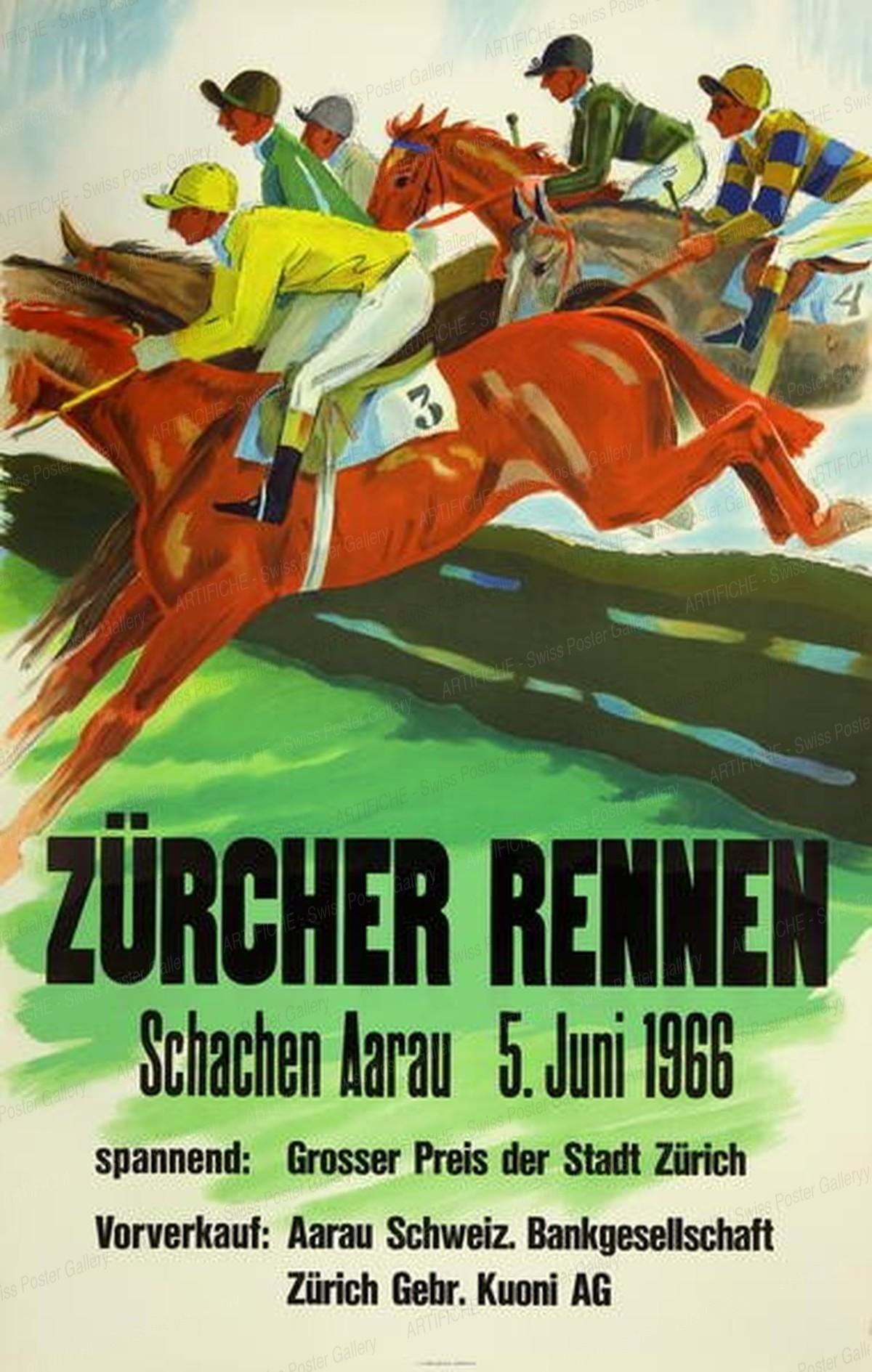 Zürcher Rennen Schachen Aarau, Herbert Berthold Libiszewski