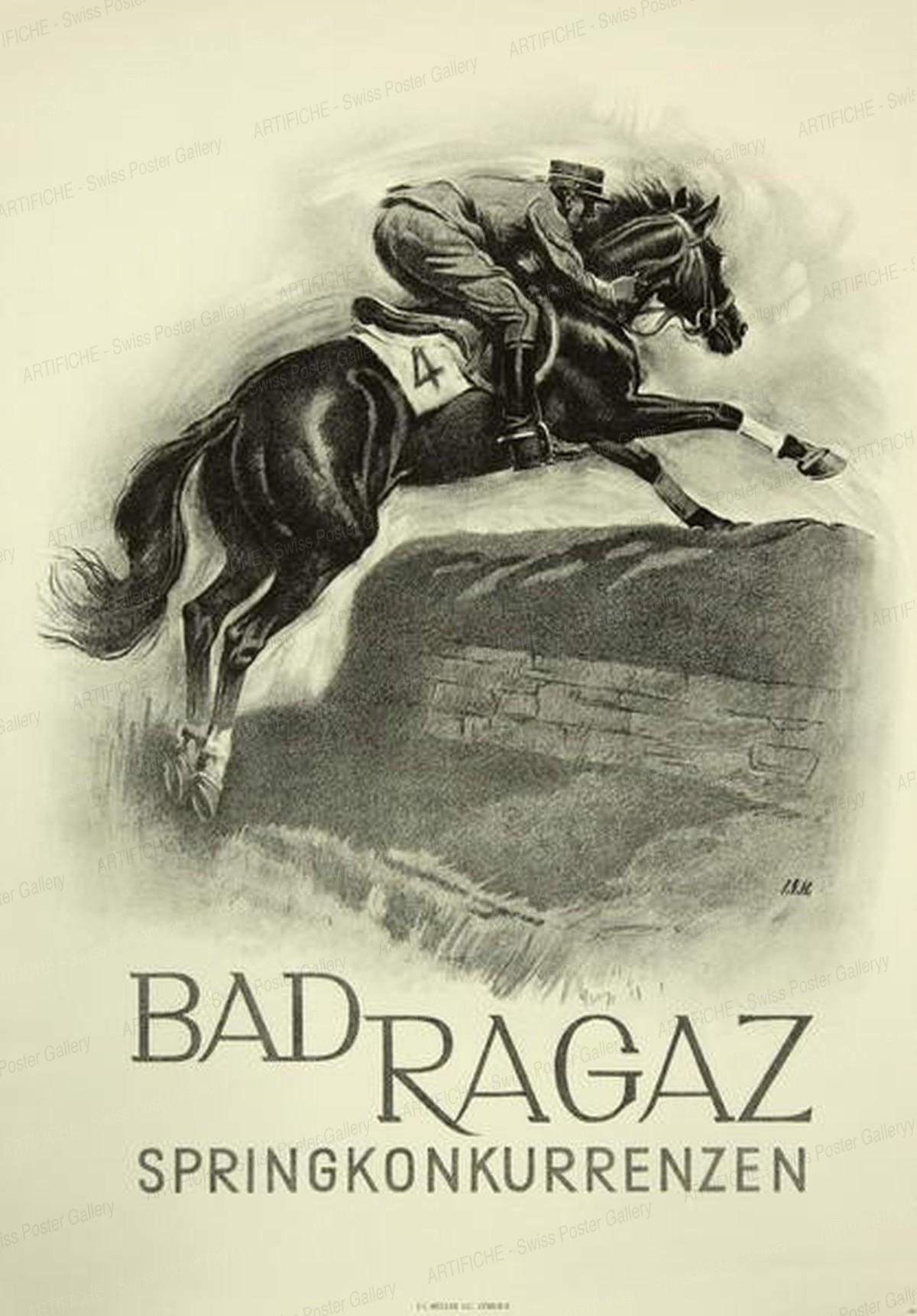 Horse Race Bad Ragaz, Iwan Edwin Hugentobler