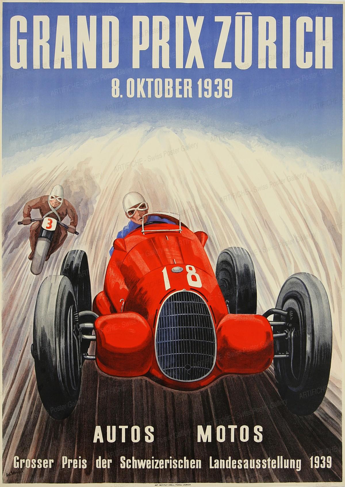 Grand Prix Switzerland Zurich, Adolf Schnider