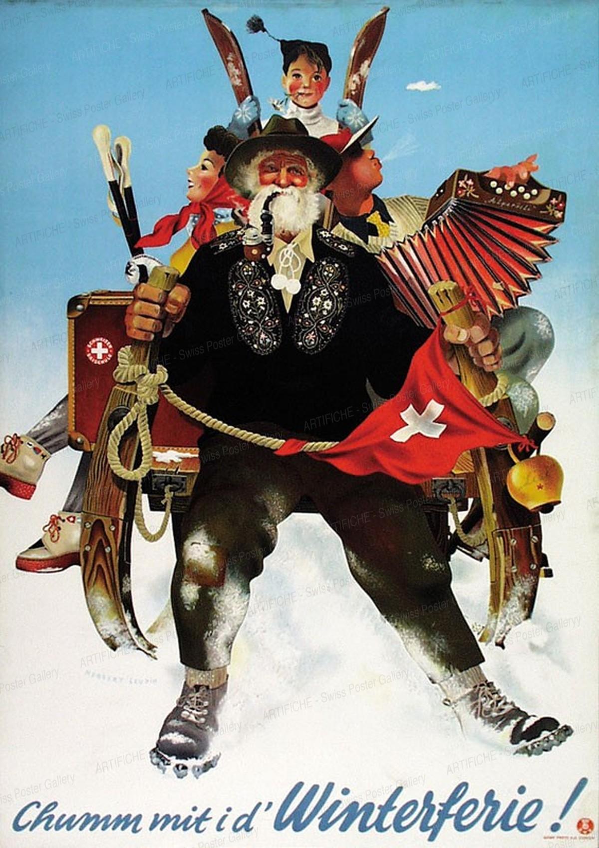 Chumm mit i d'Winterferie !, Herbert Leupin