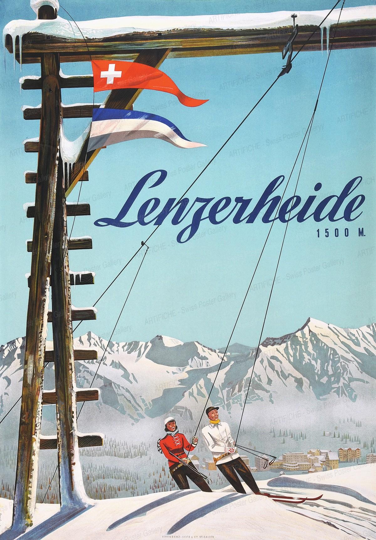 Lenzerheide 1500 M., Arnold Bosshard