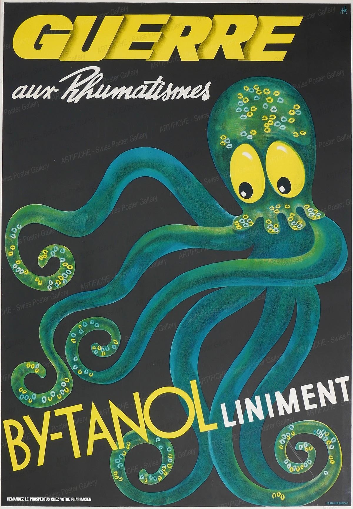 BYTANOL – Guerre aux Rhumatismes, Hubert