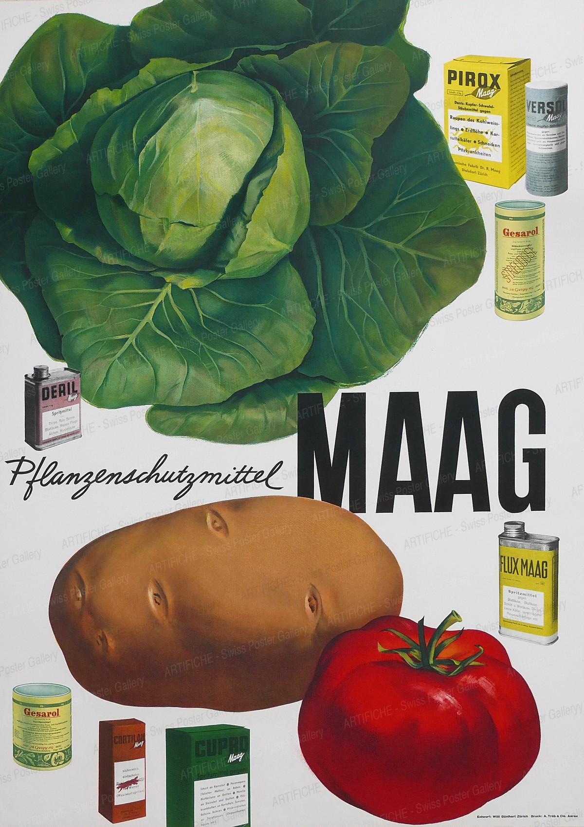 Pflanzenschutzmittel Maag, Willi Günthart