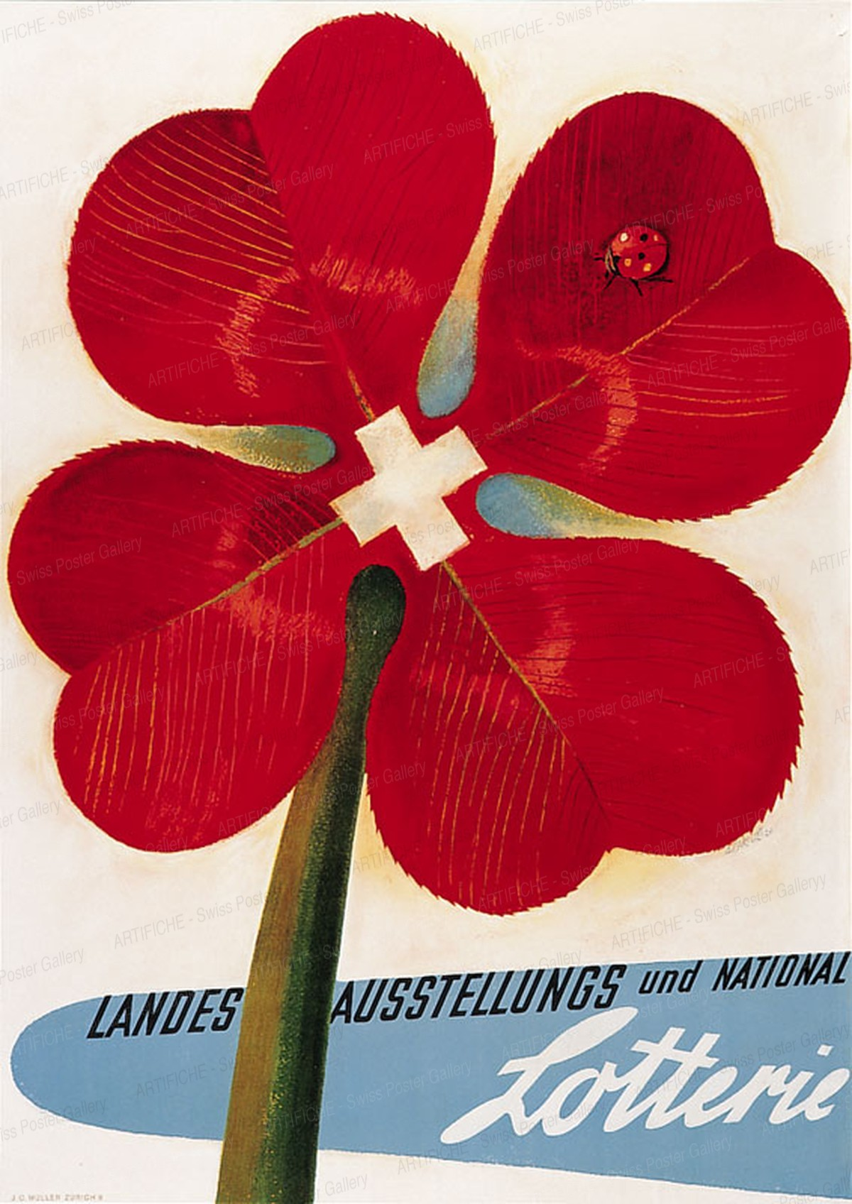 Interkantonale Landes-Lotterie, Alois Carigiet