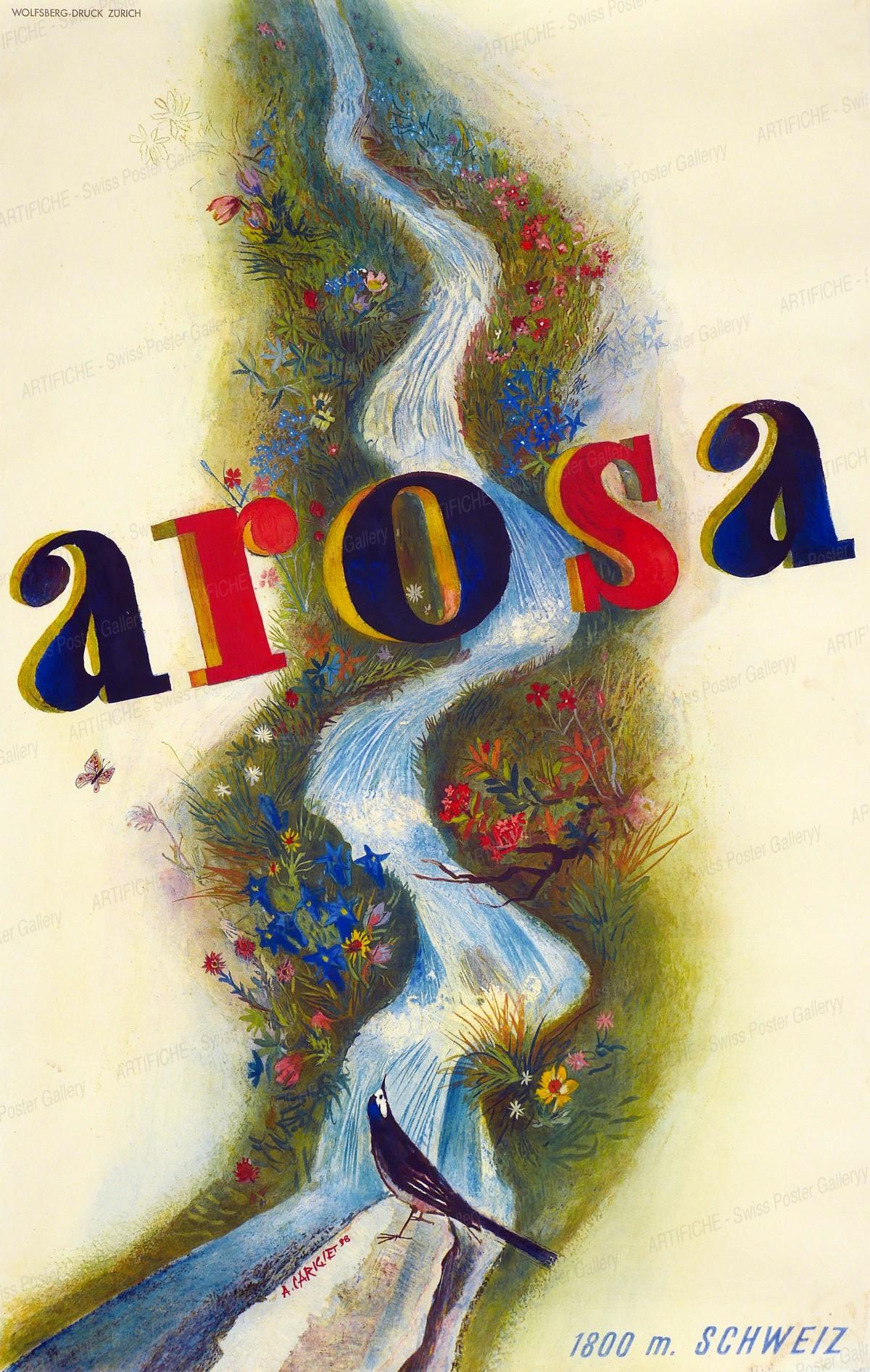 Arosa – 6000 ft. – Switzerland, Alois Carigiet
