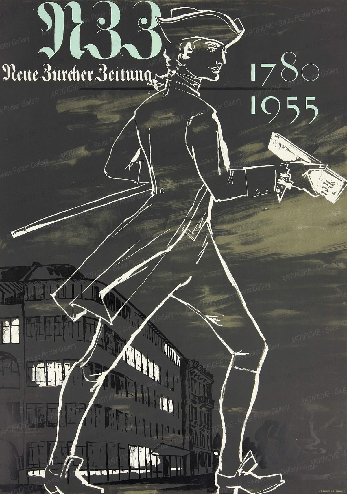 Neue Zürcher Zeitung 1780 – 1955, Heinrich Steiner