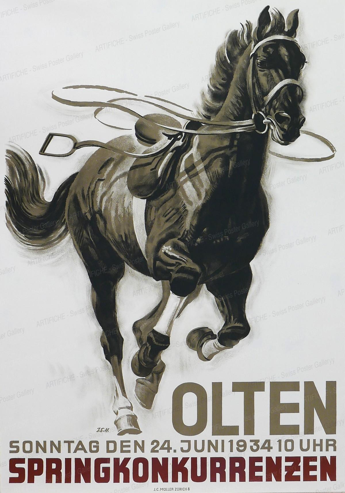 Springkonkurrenzen Olten, Iwan Edwin Hugentobler