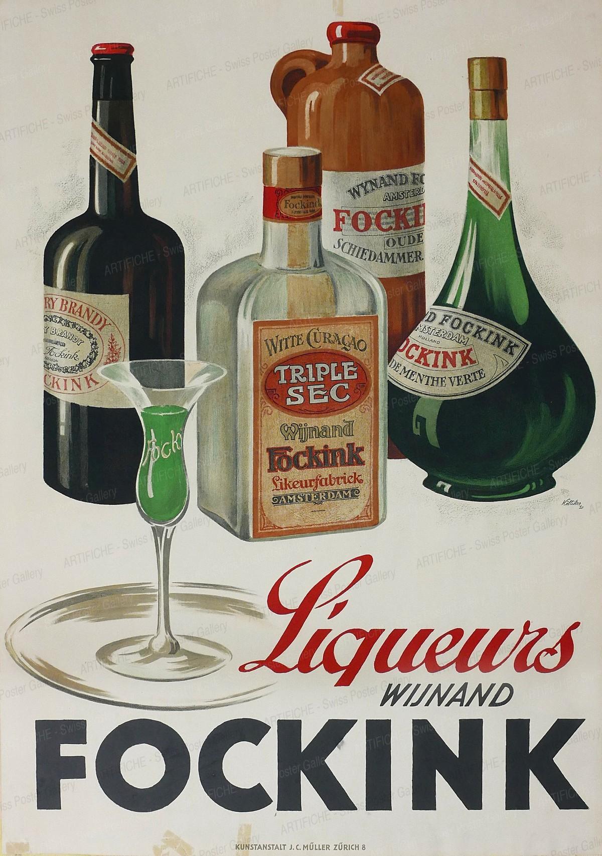 Liqueurs Wijnand Fockink, Hermann Alfred Koelliker