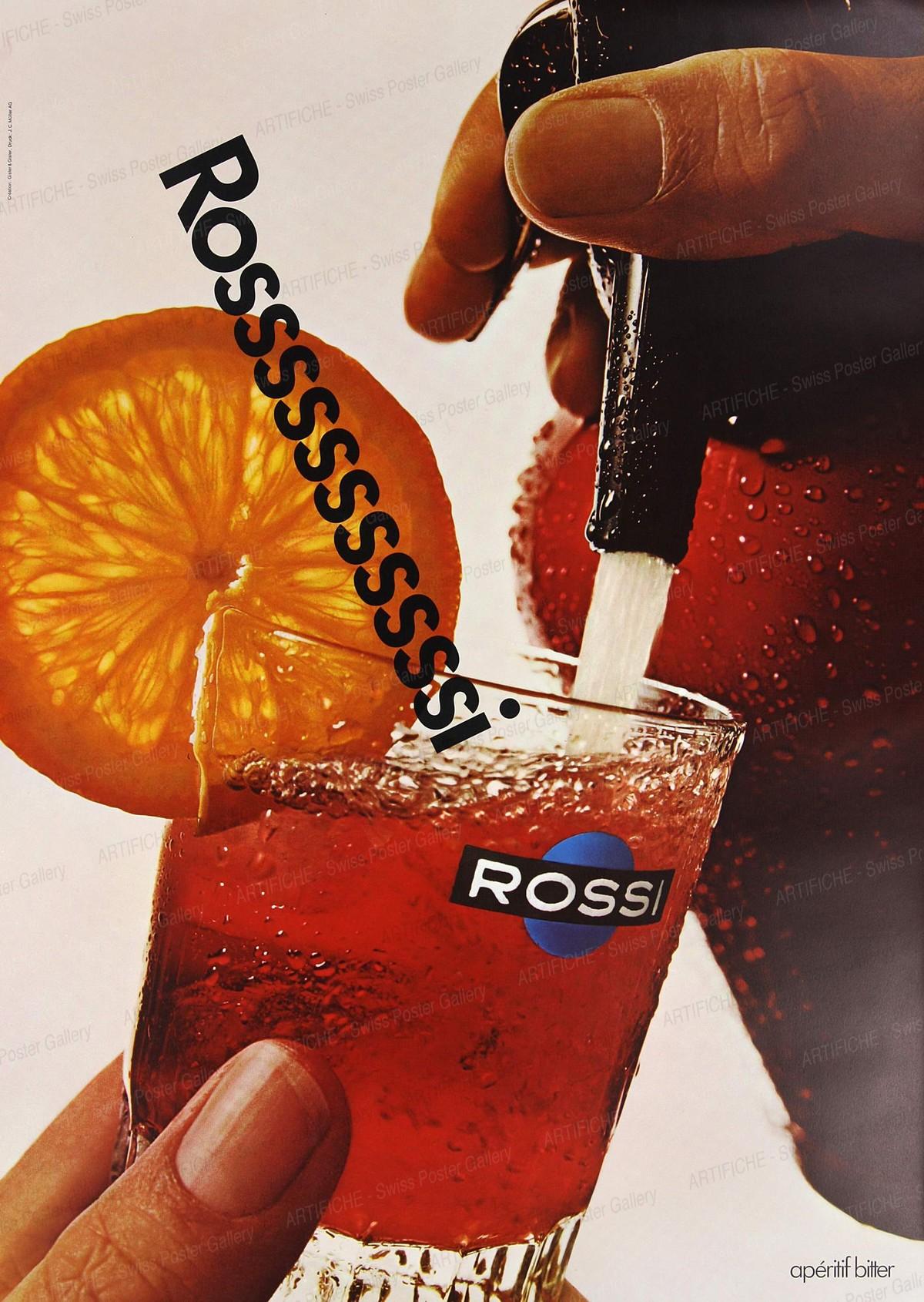 Rossi – apéritif bitter, Gisler & Gisler