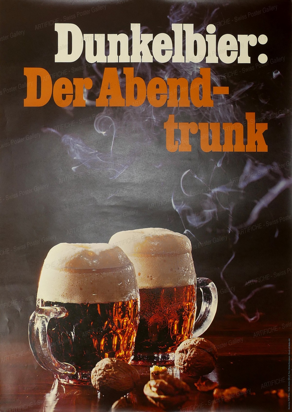 Dunkelbier : Der Abendtrunk, Rolf Kriesi