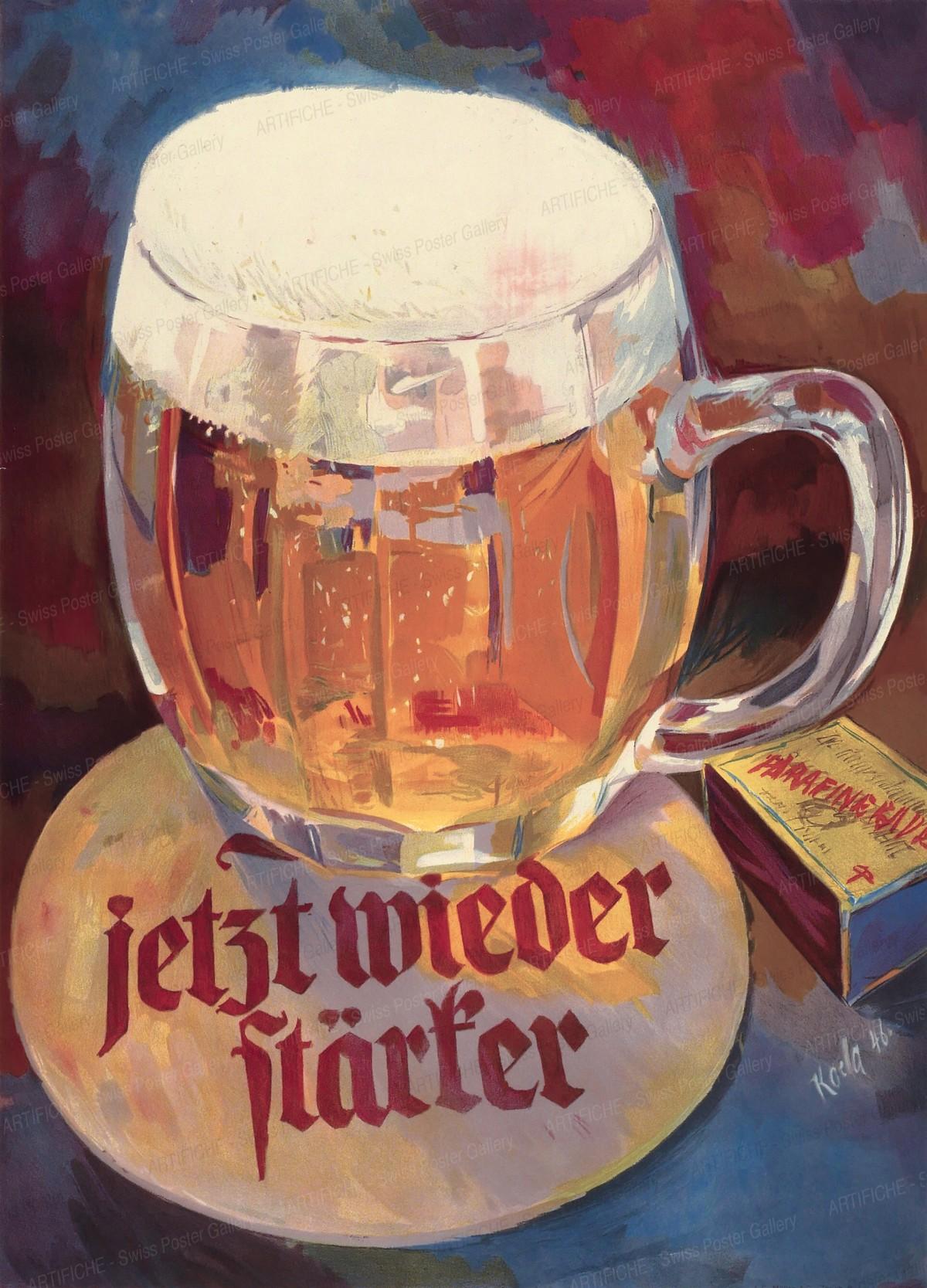 jetzt wieder stärker (Bier), Alfred Koella