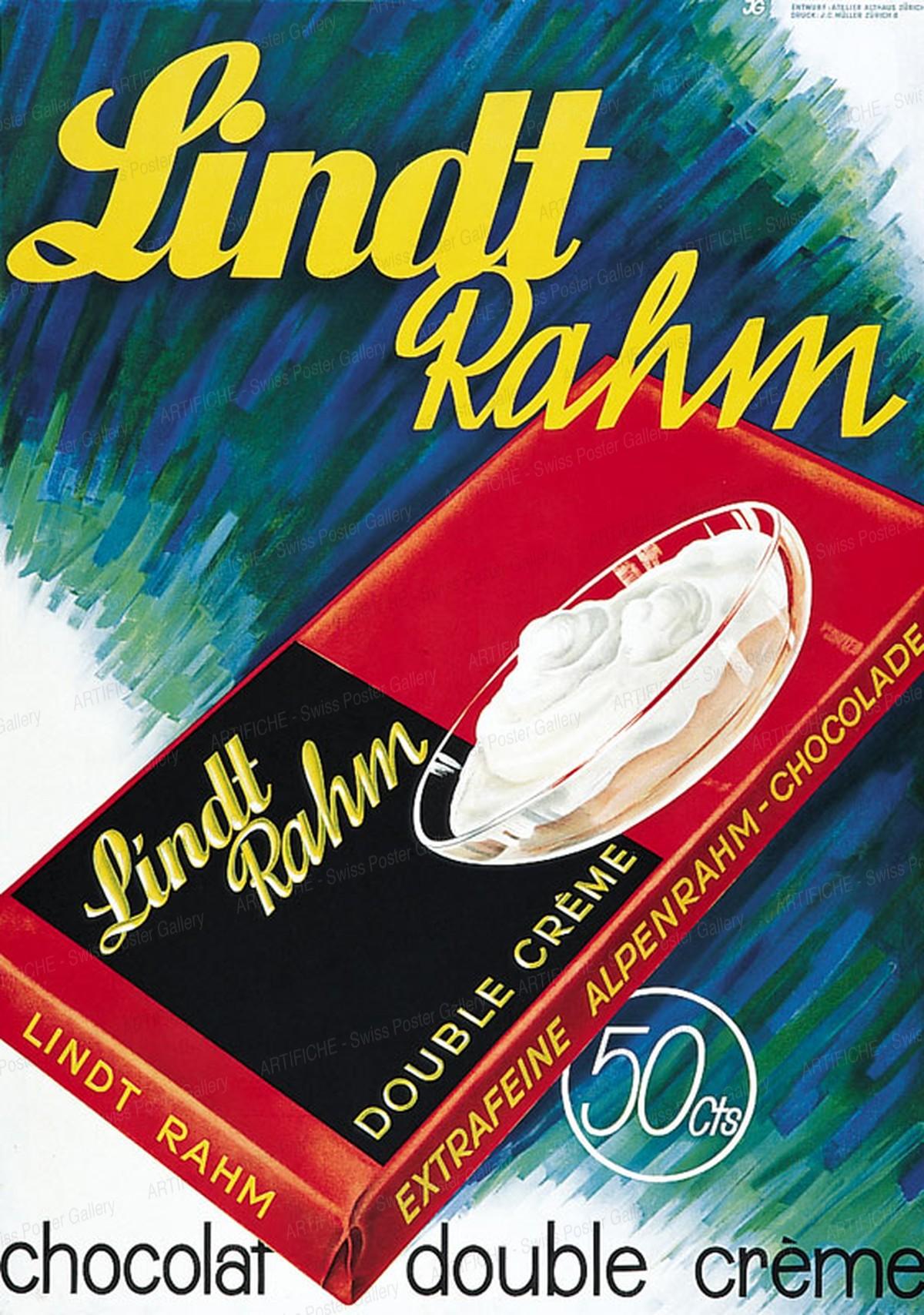 Lindt Rahm Schokolade, Althaus, Paul O., Atelier