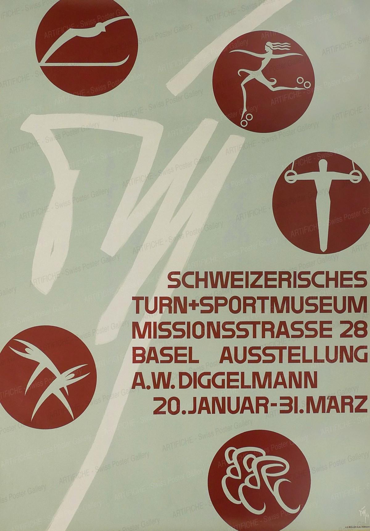 Swiss Museum of Sports Basel, Alex Walter Diggelmann