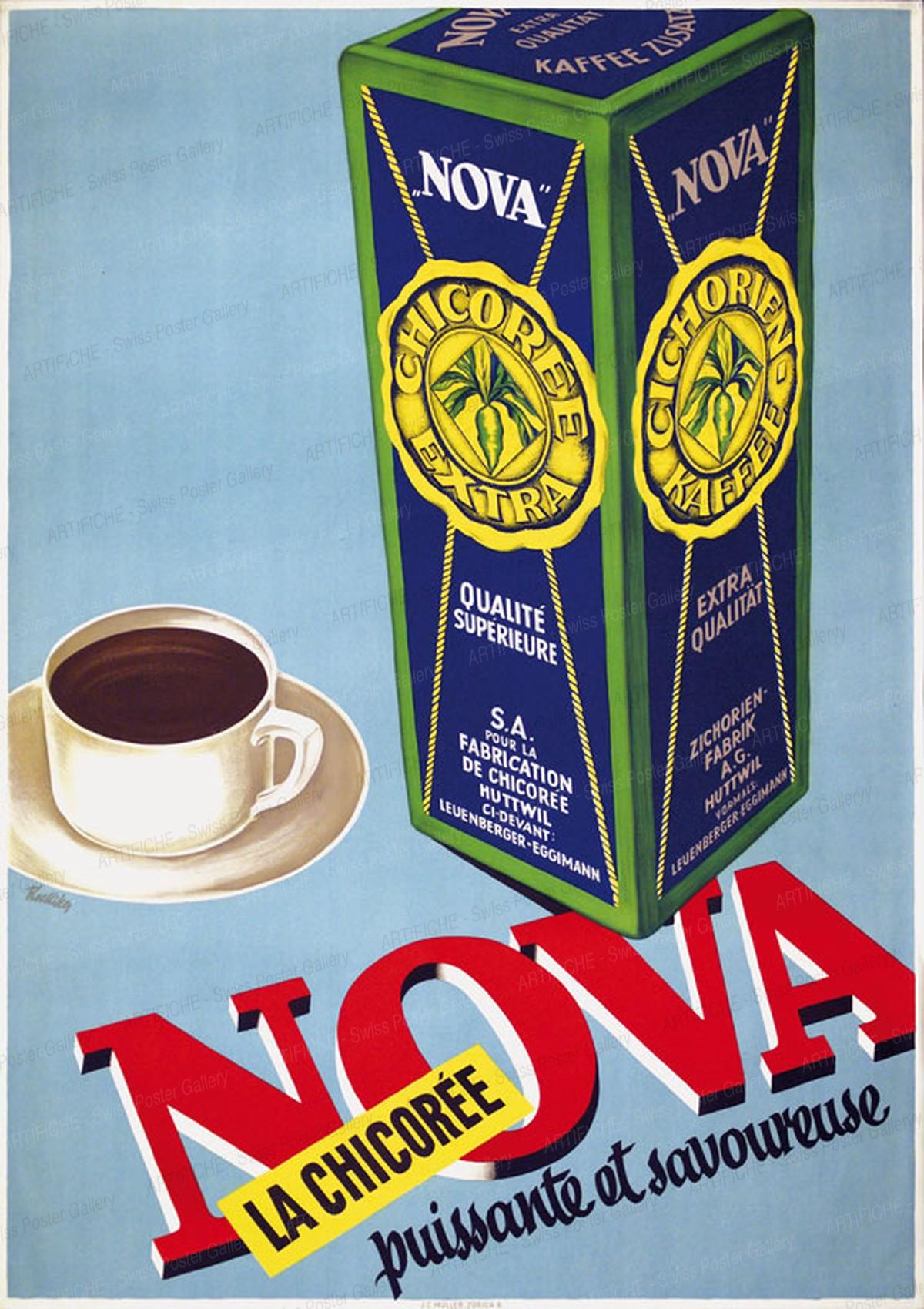 NOVA – La Chicorée puissante et savoureuse, Hermann Alfred Koelliker