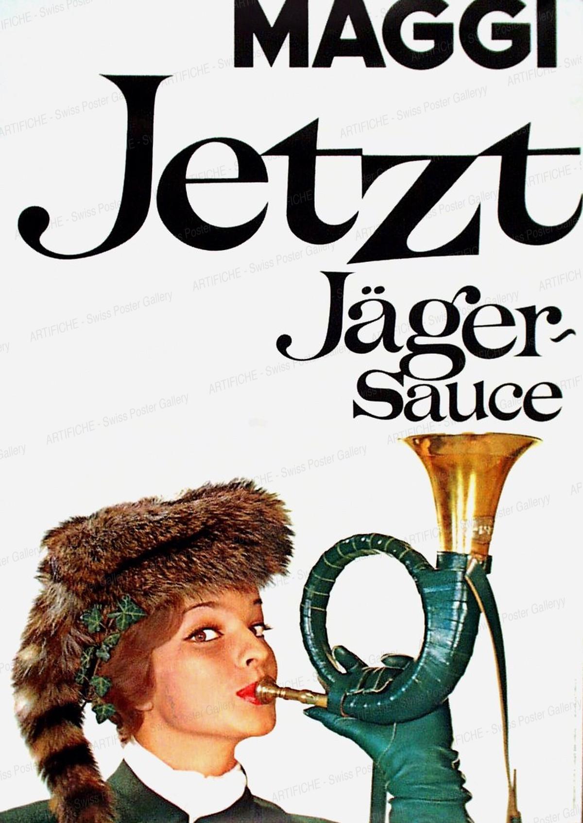 Maggi – Jetzt Jäger-Sauce, Hans Looser