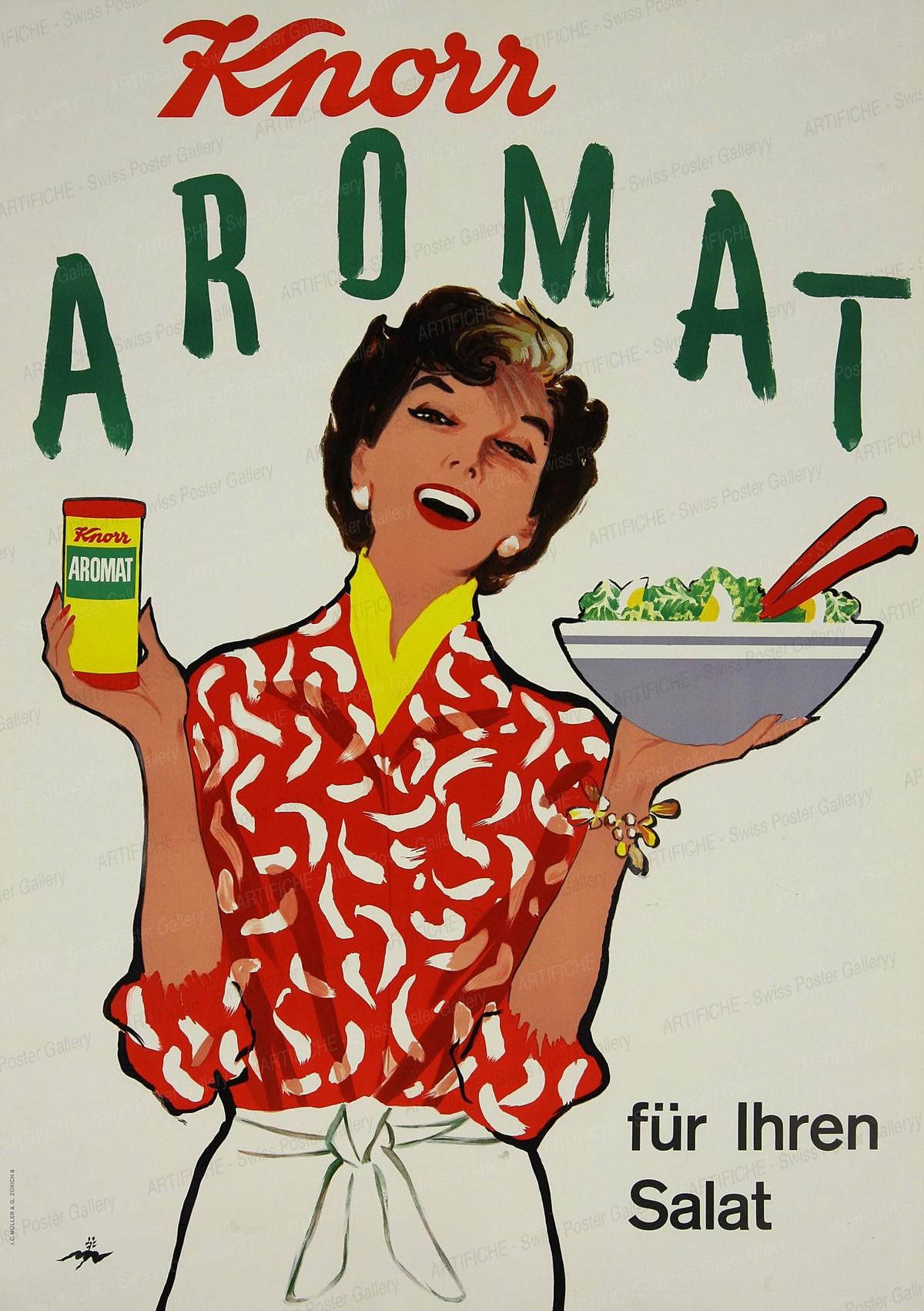 Knorr Aromat – Für Ihren Salat, René Mühlemann