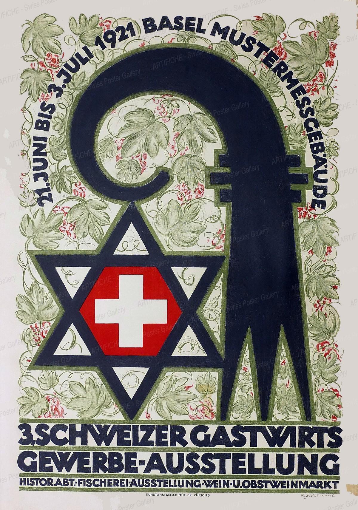 3. Schweizer Gastwirts-Gewerbe-Ausstellung – Basel, Robert Stöcklin