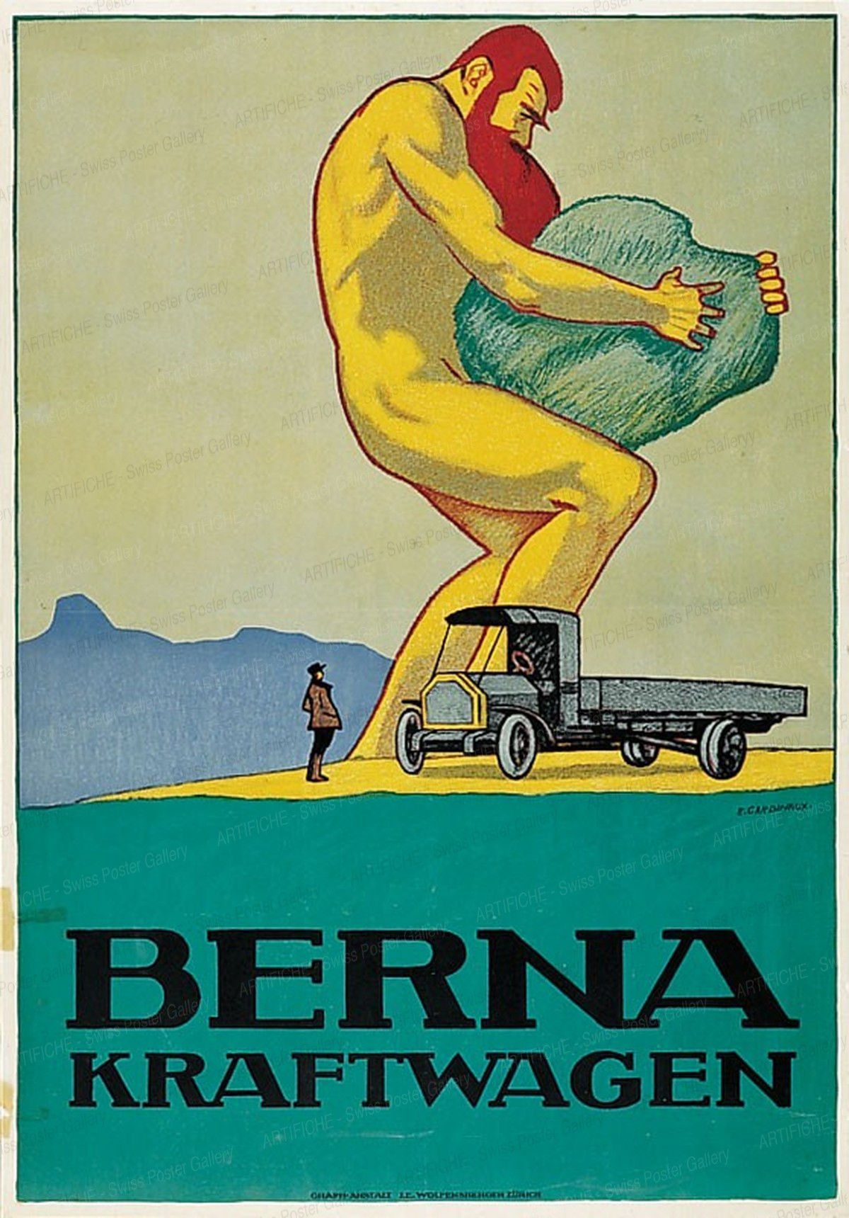 BERNA CAMIONS – AUTOMOBILES, Emil Cardinaux