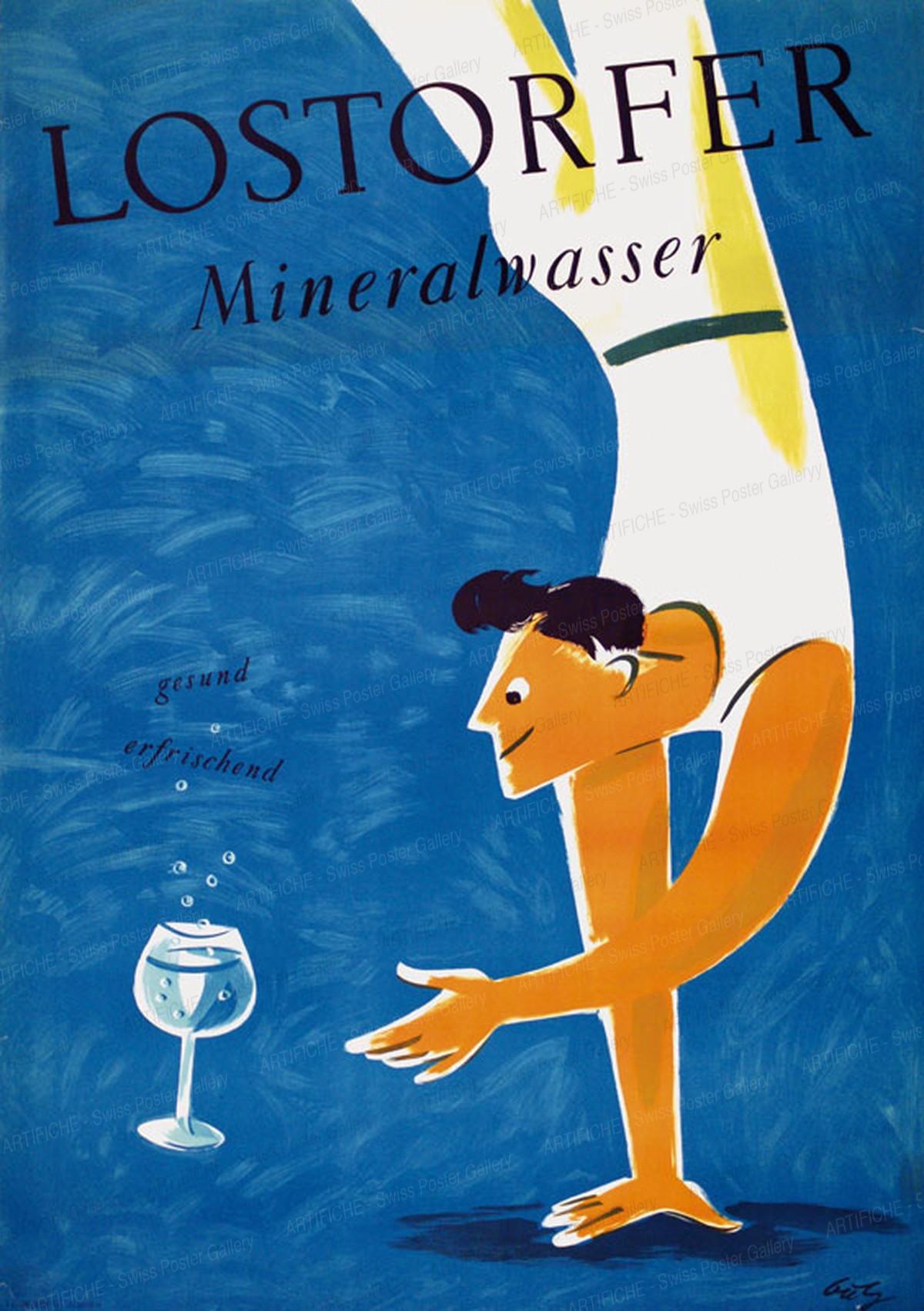 Lostorfer Mineralwasser, Fritz Butz