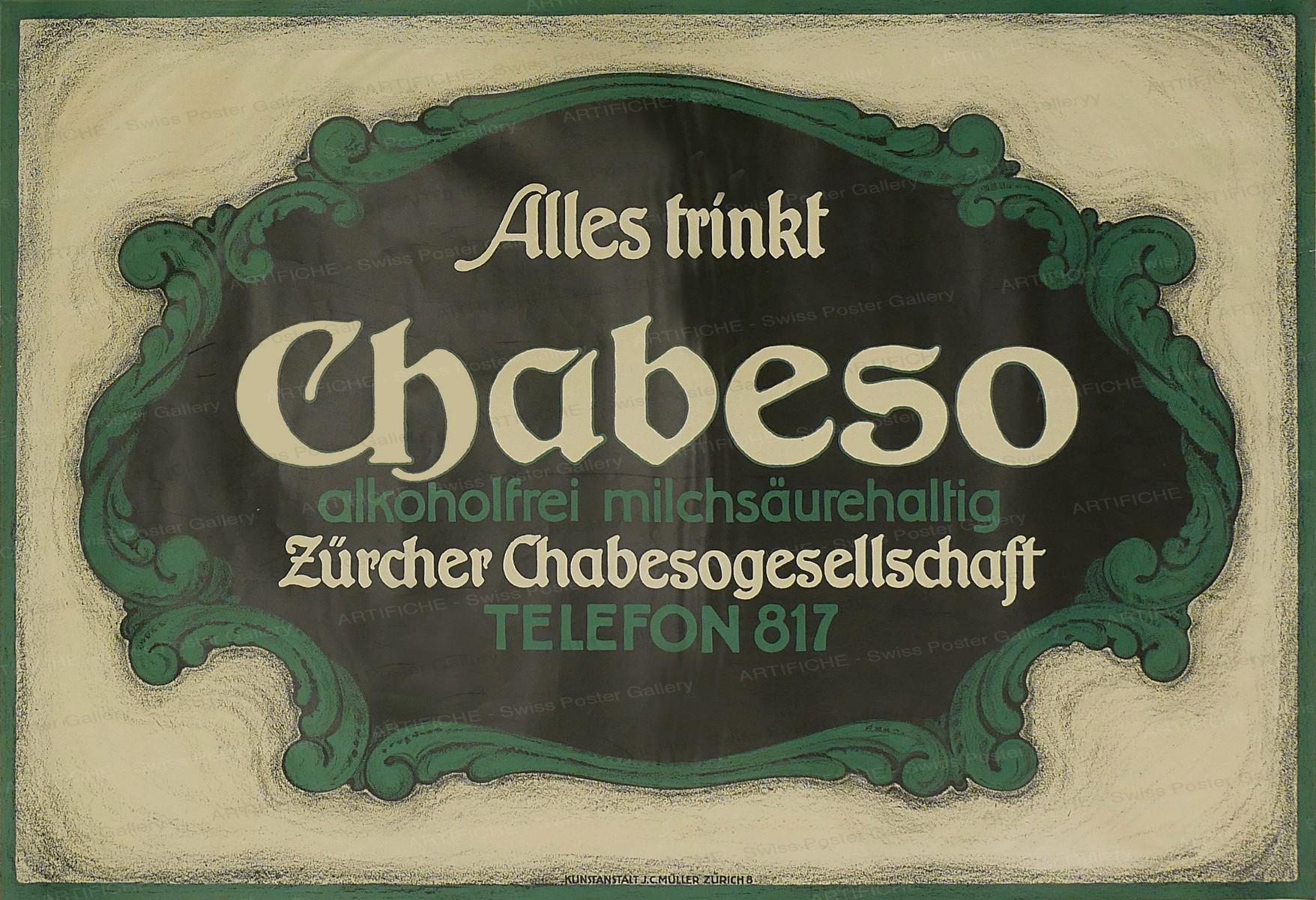 Alles trinkt Chabeso, Hans Heinrich Ernst Hartung
