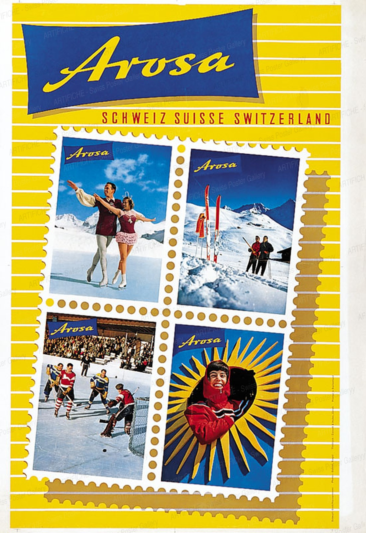 Arosa Schweiz Suisse Switzerland, Wolfgang Hausamann
