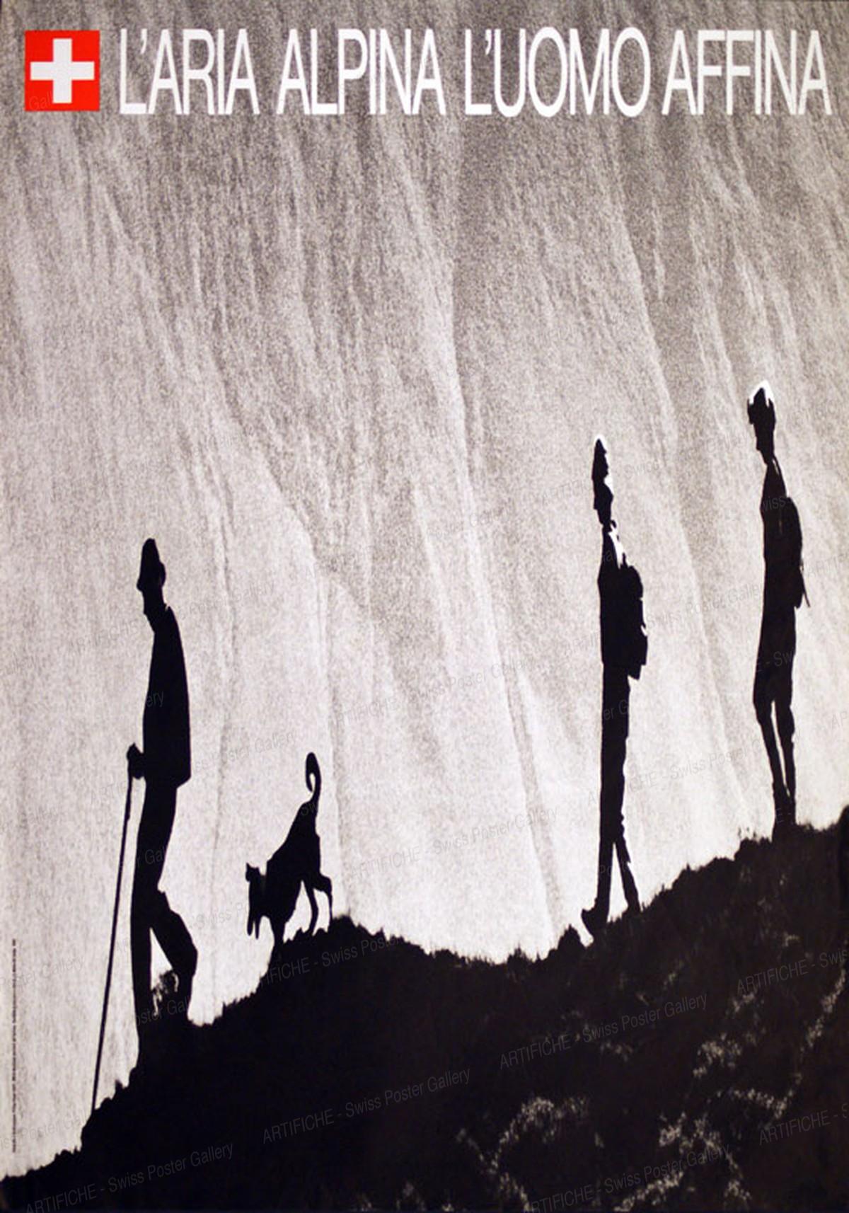 L'Aria alpina l'uomo affina, Philipp Giegel