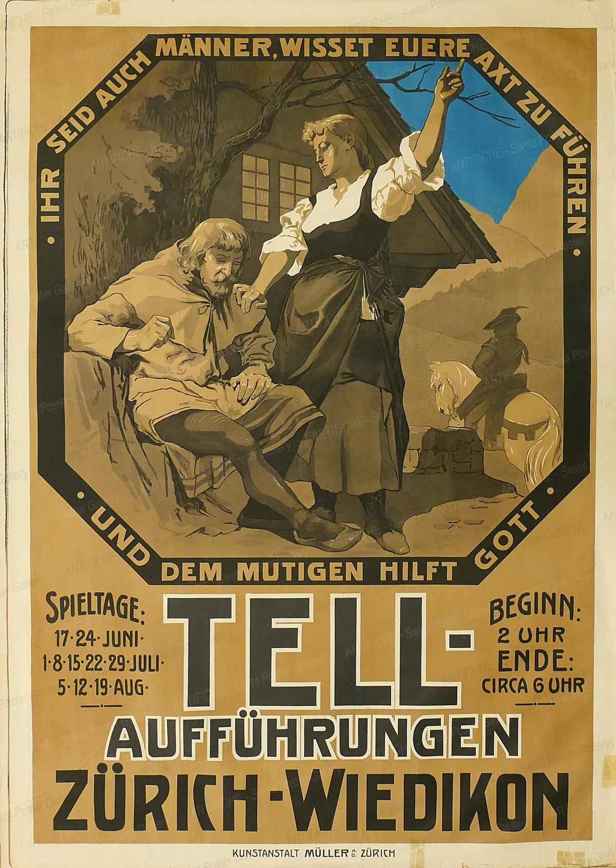 Tell Theatre Zurich Wiedikon, Isler