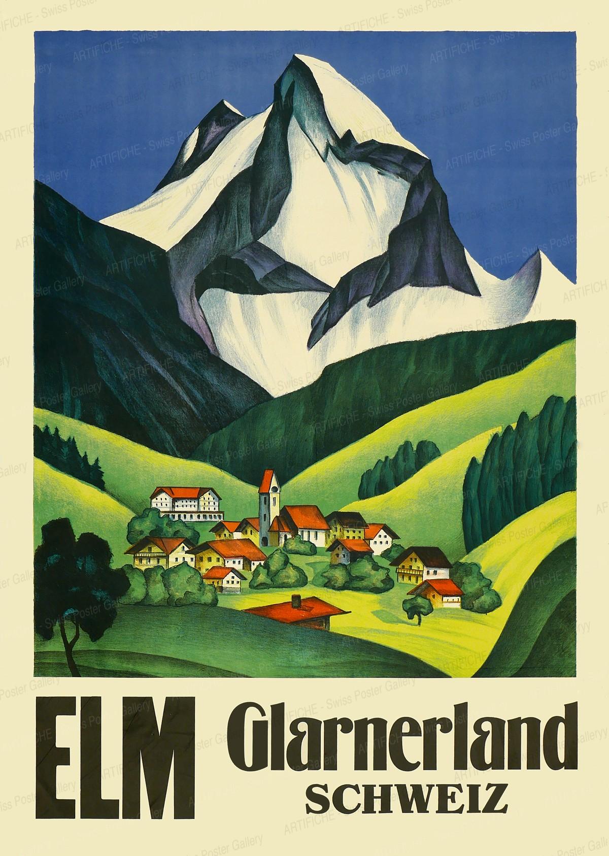 ELM – Glarnerland – Schweiz, Artist unknown