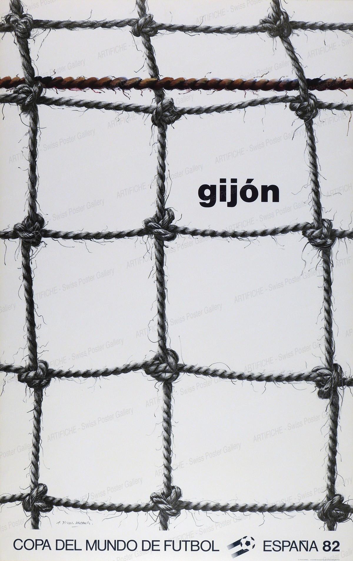 Copa del Mundo de Futbol – España 82 – Gijón, Gérard Titus-Carmel