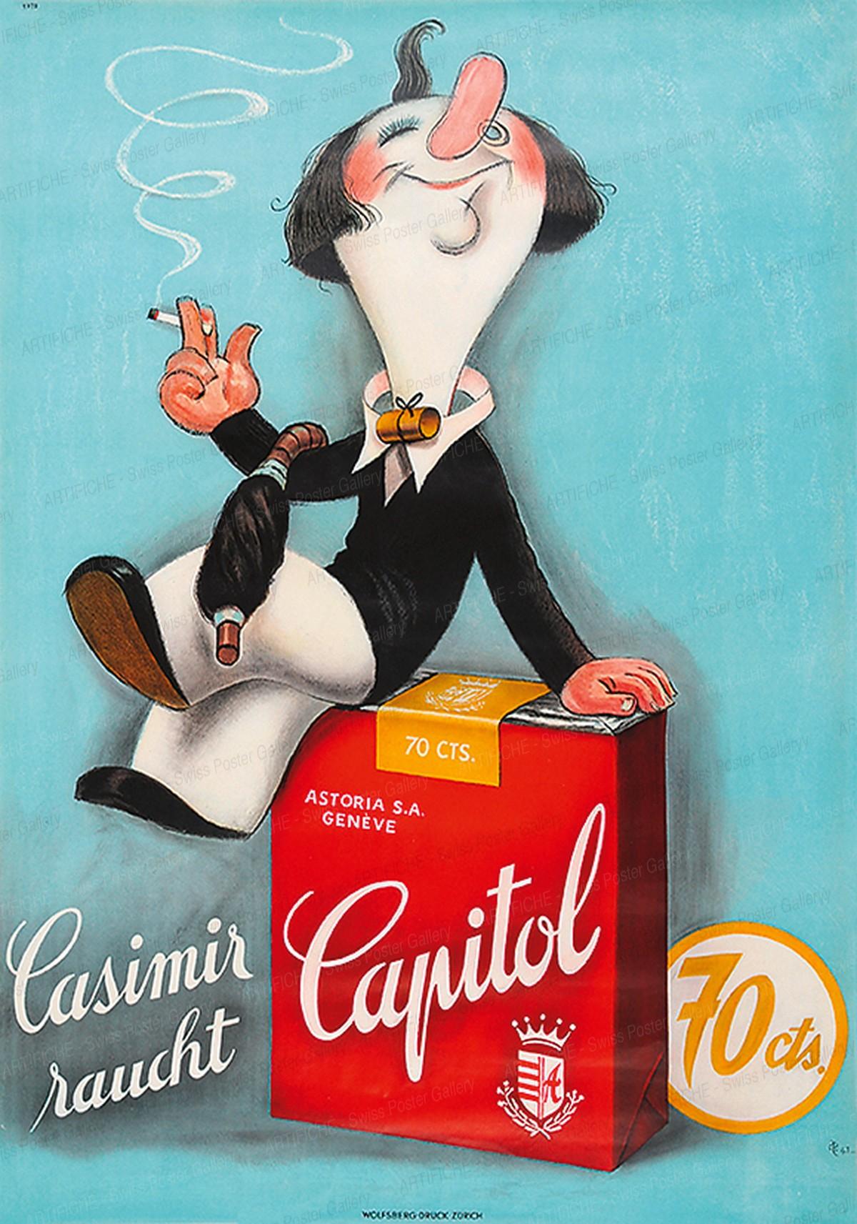 Casimir raucht Capitol, Hugo Laubi