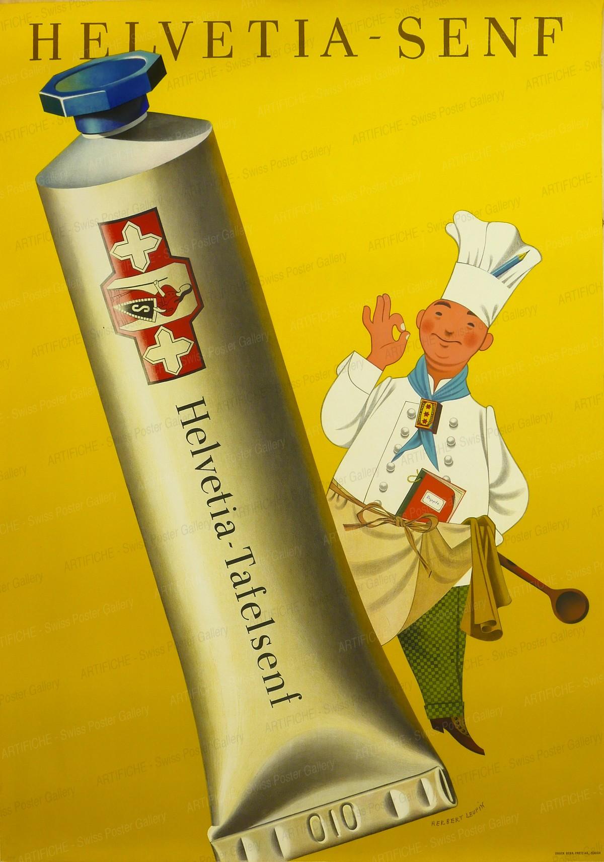 Helvetia-Senf, Herbert Leupin